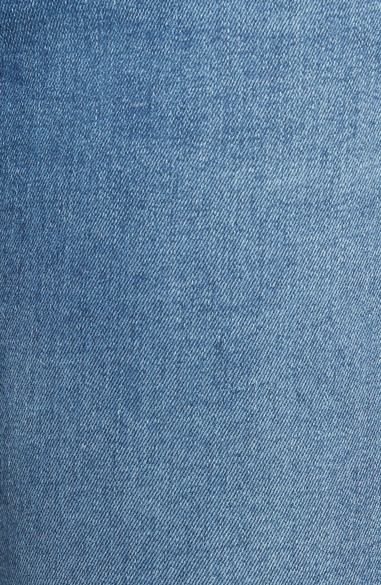 Santana Ripped Skinny Jeans,                             Alternate thumbnail 5, color,