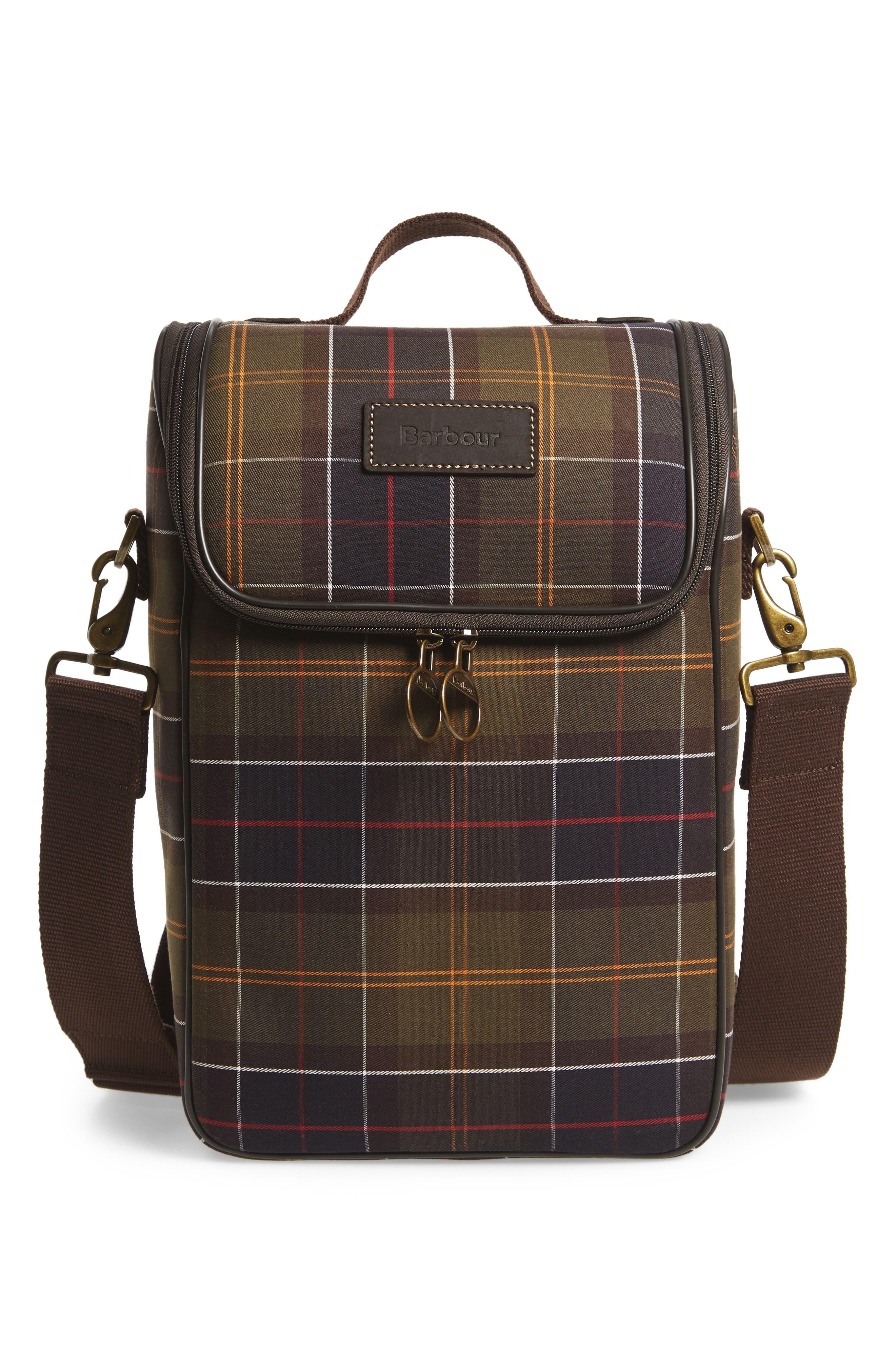 Tartan Cooler Bag,                         Main,                         color, 300