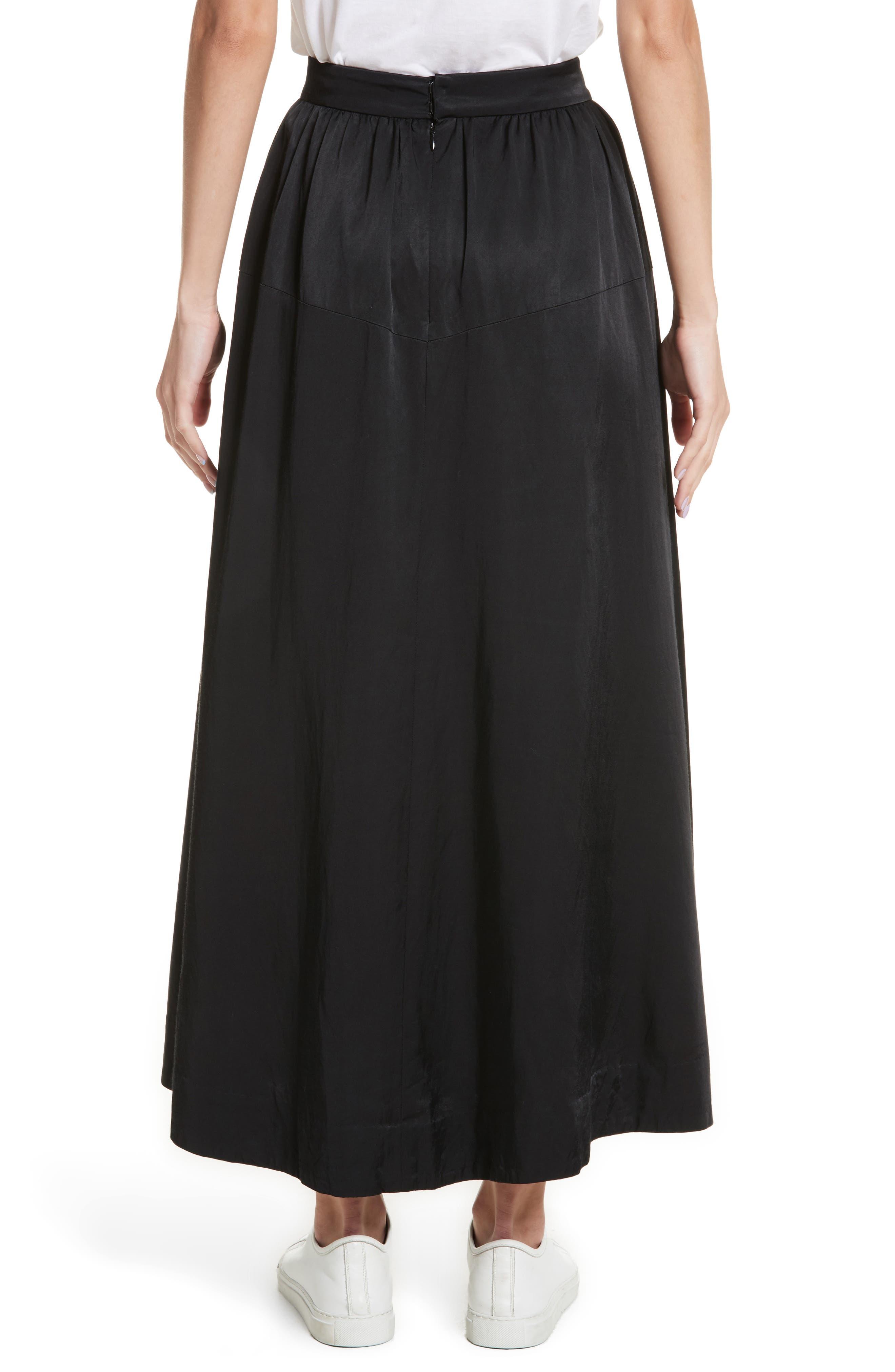 Yes Ribbon Maxi Skirt,                             Alternate thumbnail 2, color,