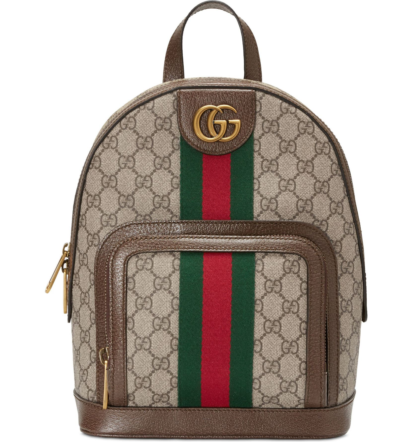 13e3b4172074 Gucci Small Ophidia GG Supreme Canvas Backpack