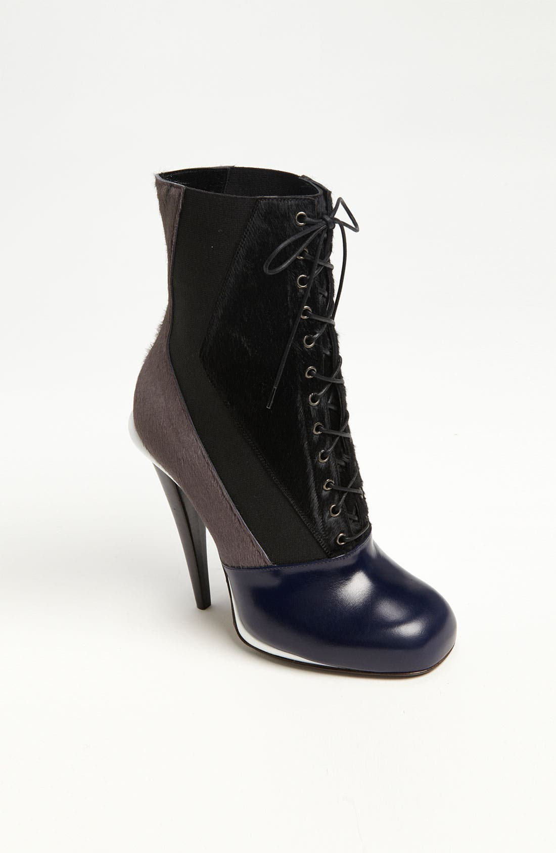 'Victorian' Lace-Up Boot, Main, color, 001