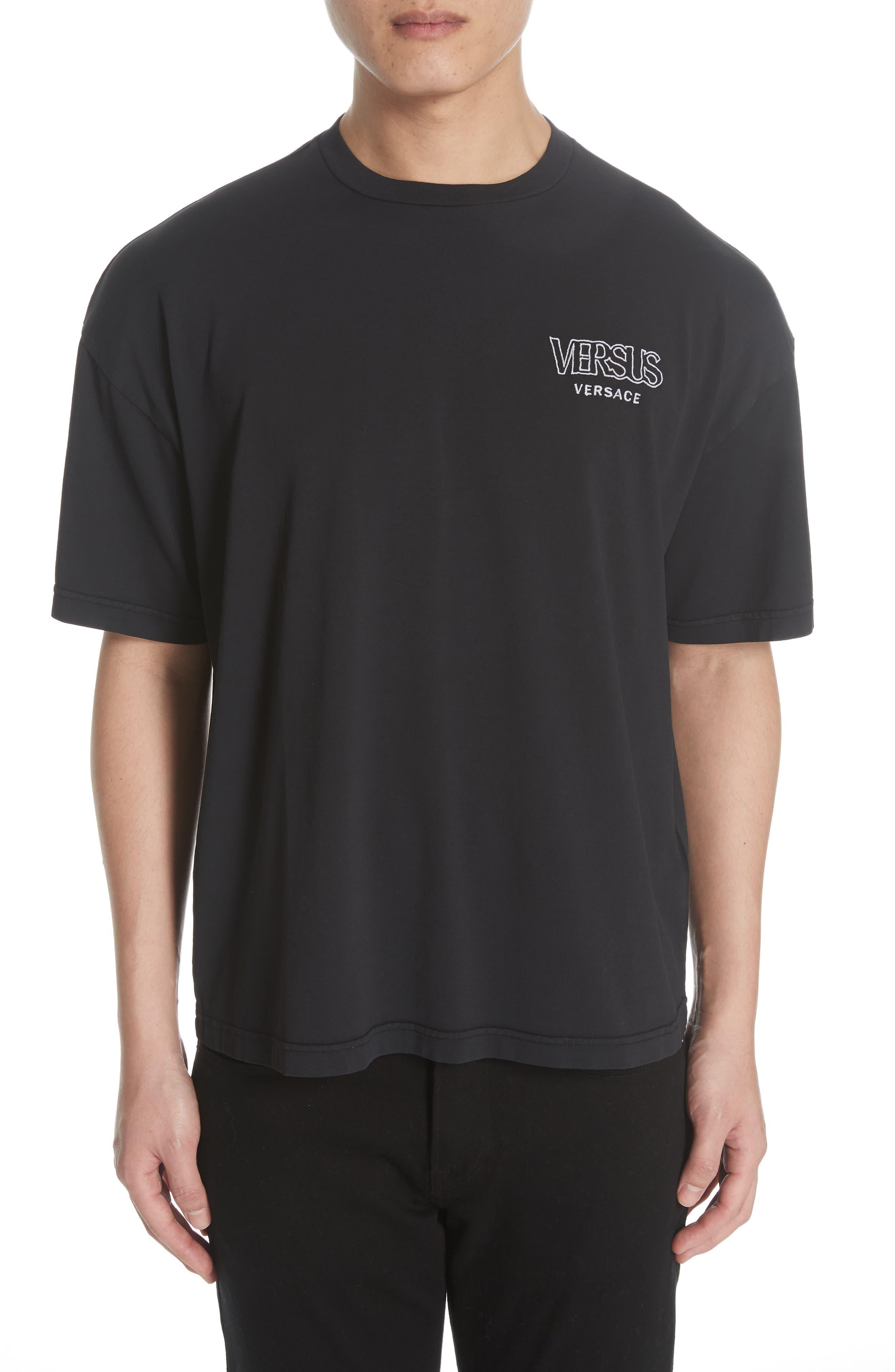 Oversize T-Shirt,                             Main thumbnail 1, color,                             BLACK