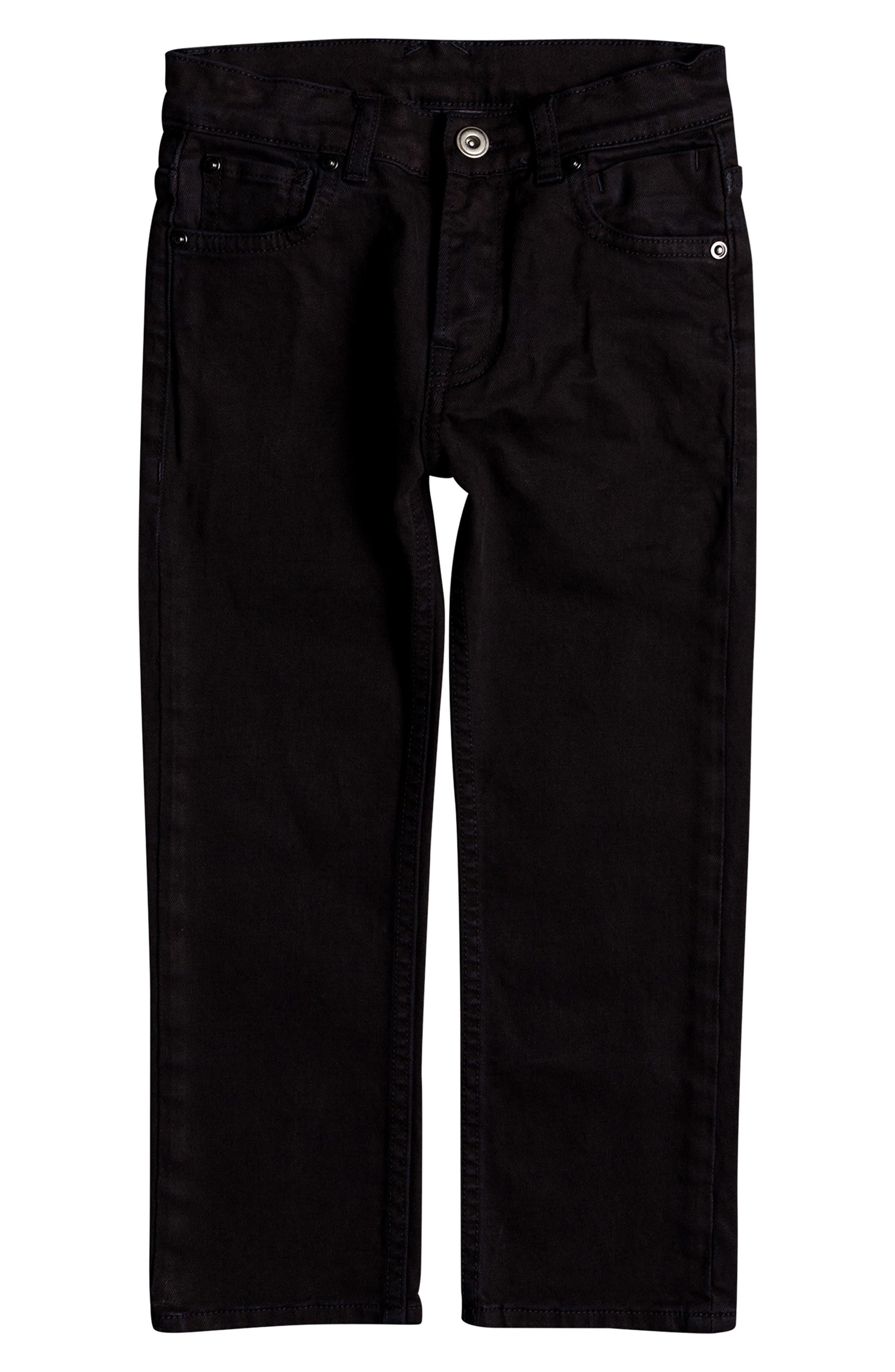 Distorsion Colors Slim Fit Straight Leg Jeans,                             Main thumbnail 1, color,                             TARMAC