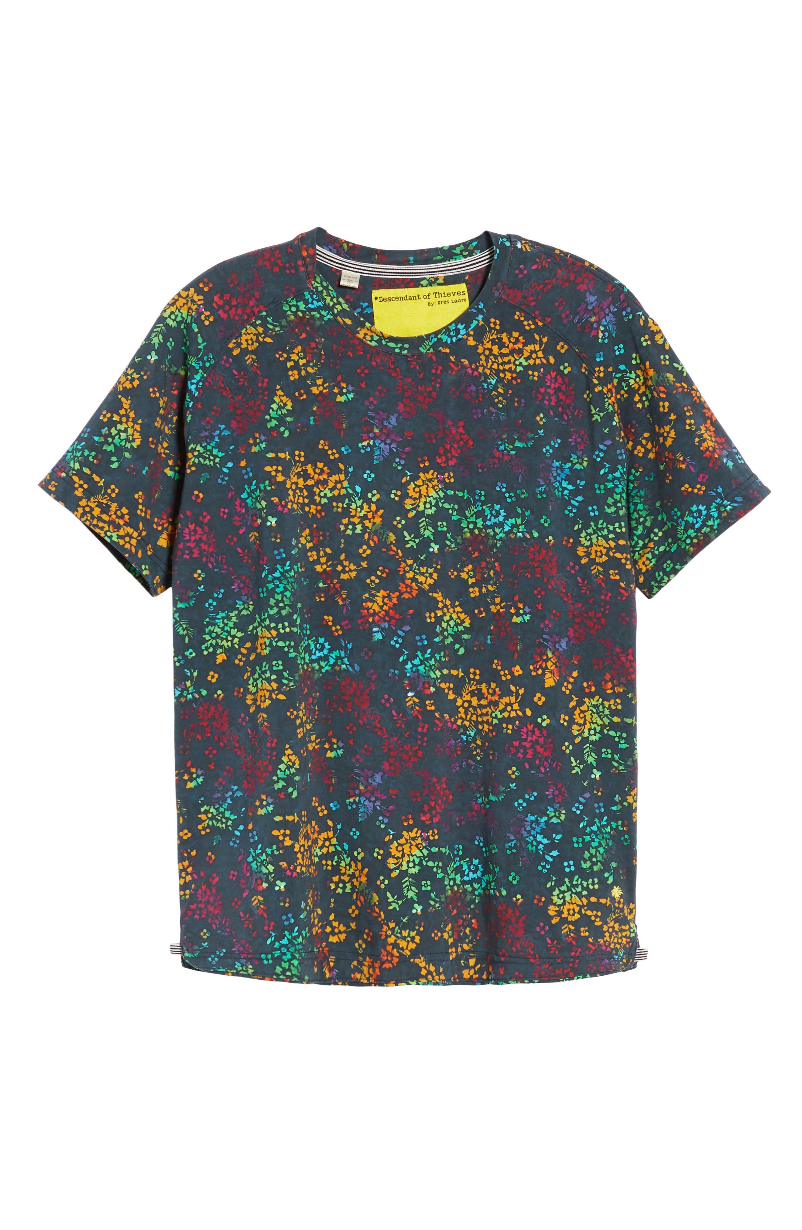 Explorer Print T-Shirt,                             Alternate thumbnail 6, color,                             400