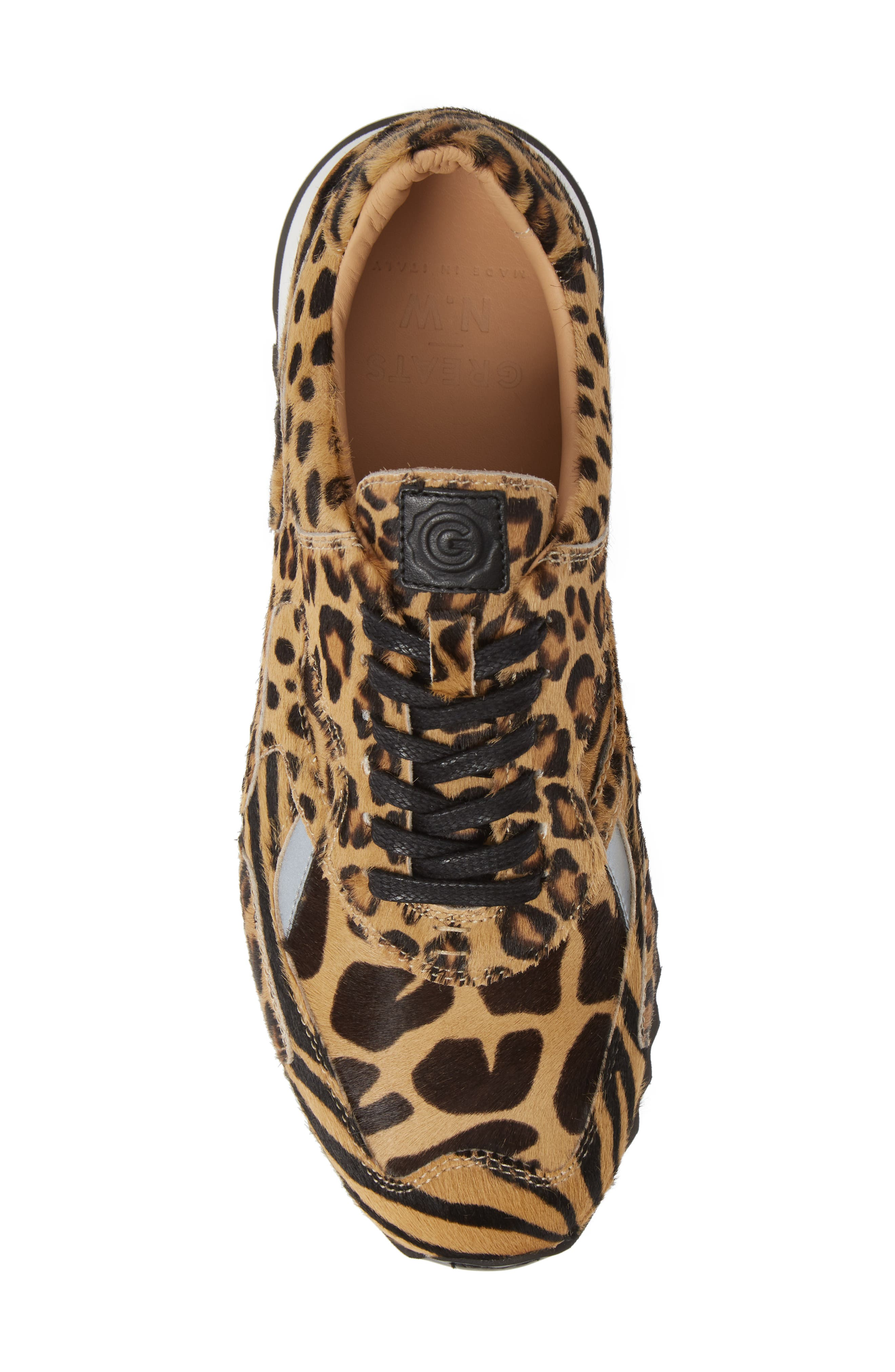 Nick Wooster x GREATS Pronto Genuine Calf Hair Sneaker,                             Alternate thumbnail 5, color,                             209