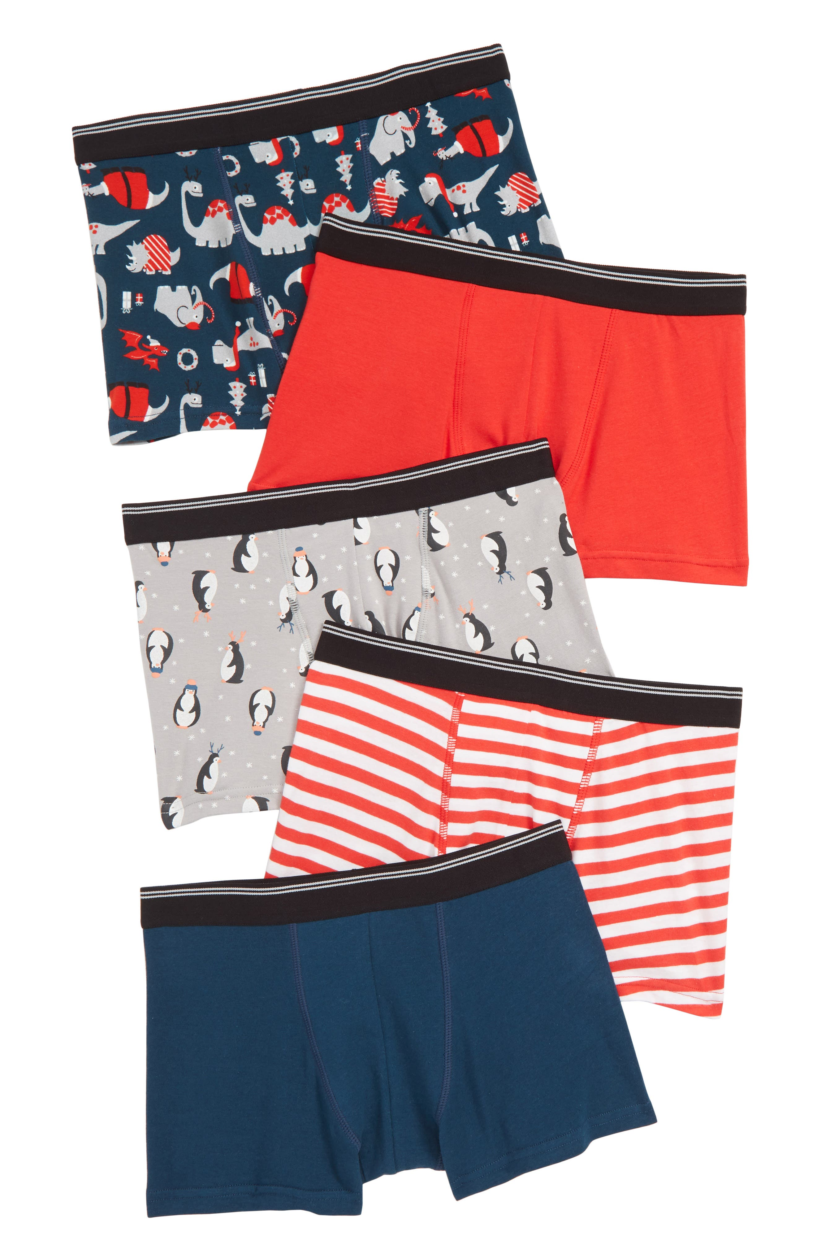 5-Pack Trunks,                         Main,                         color, 996