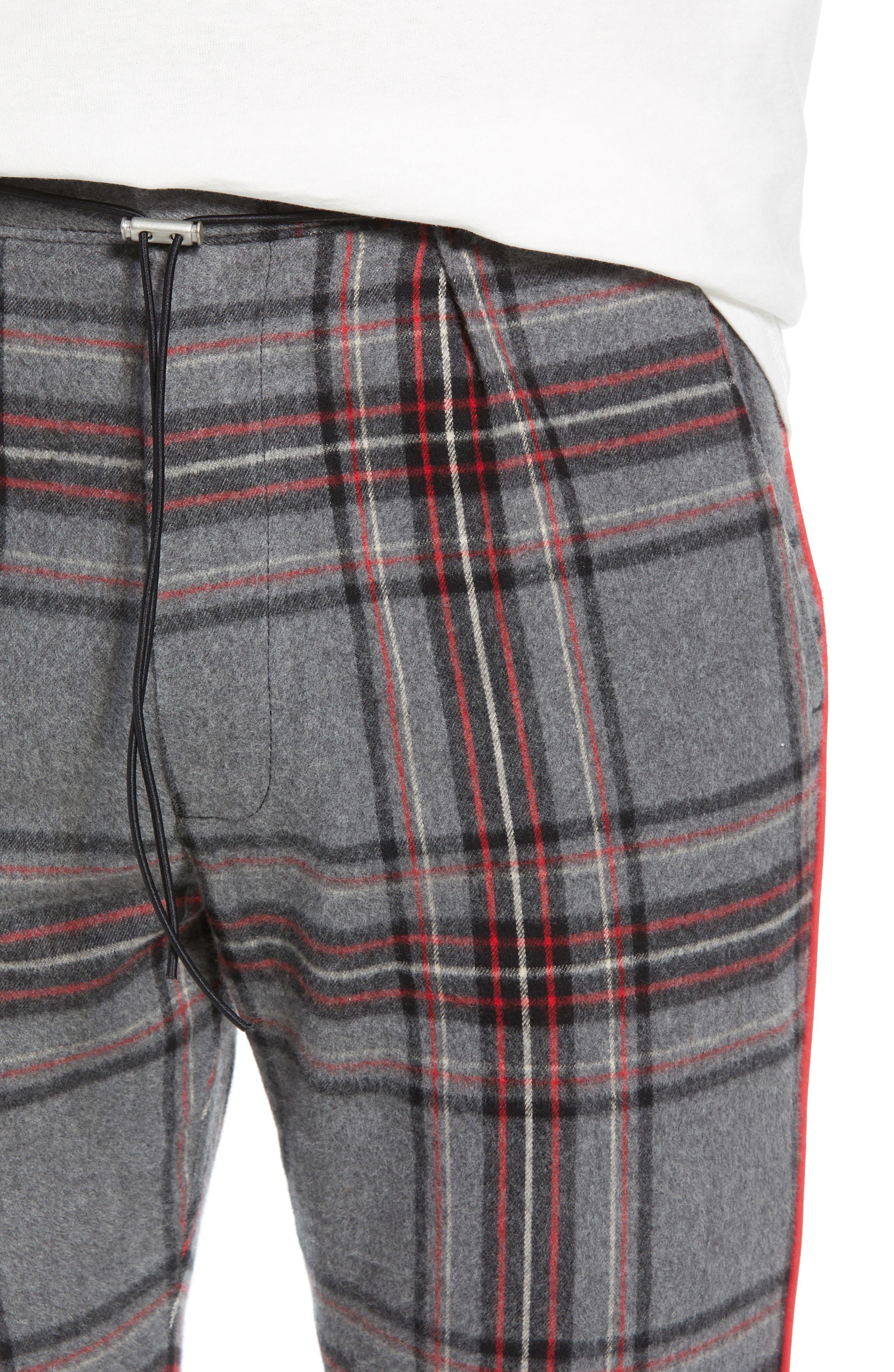 Tartan Smoking Pants,                             Alternate thumbnail 4, color,                             TARTAN