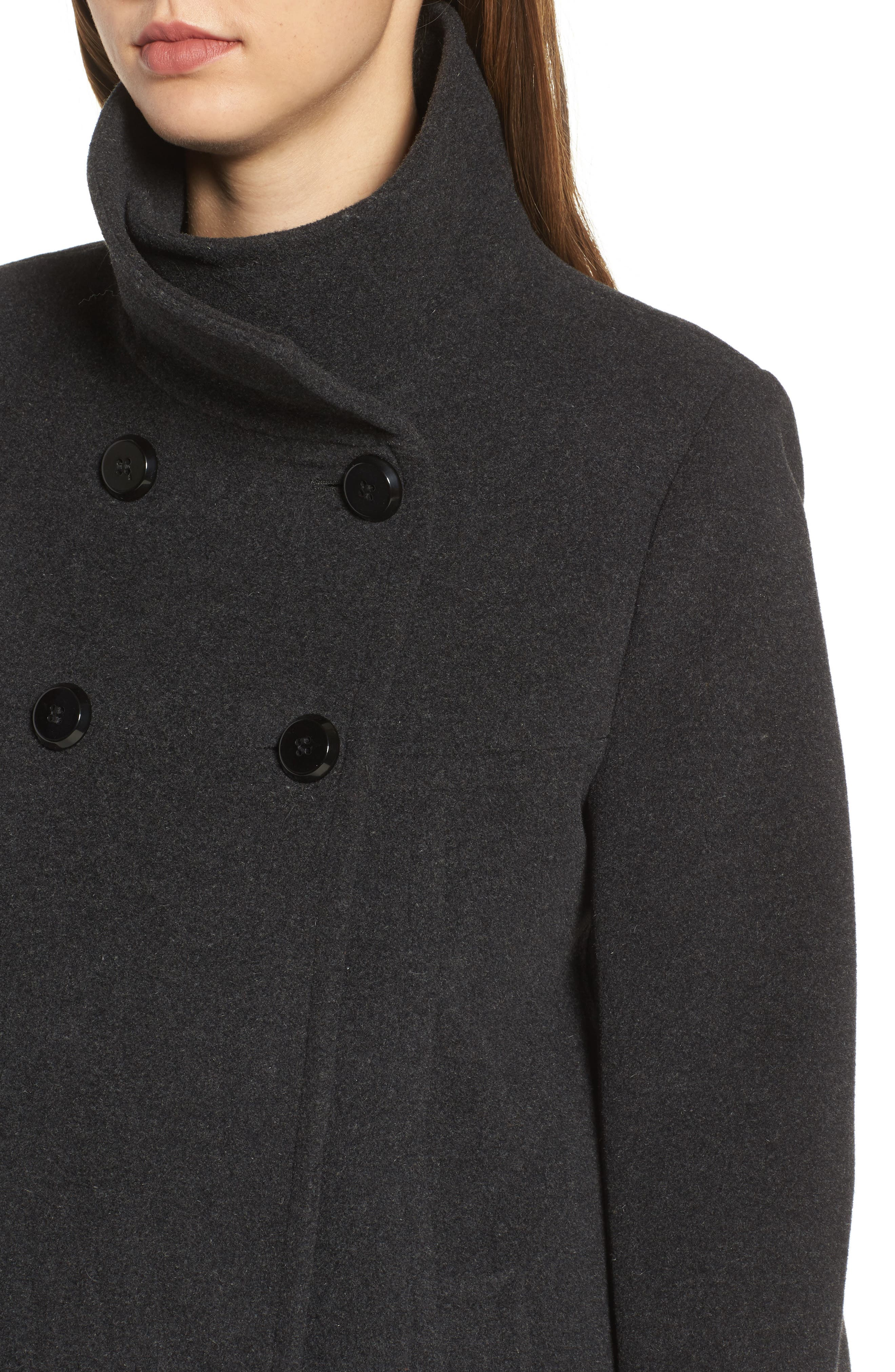 Double Breasted Coat,                             Alternate thumbnail 4, color,                             029