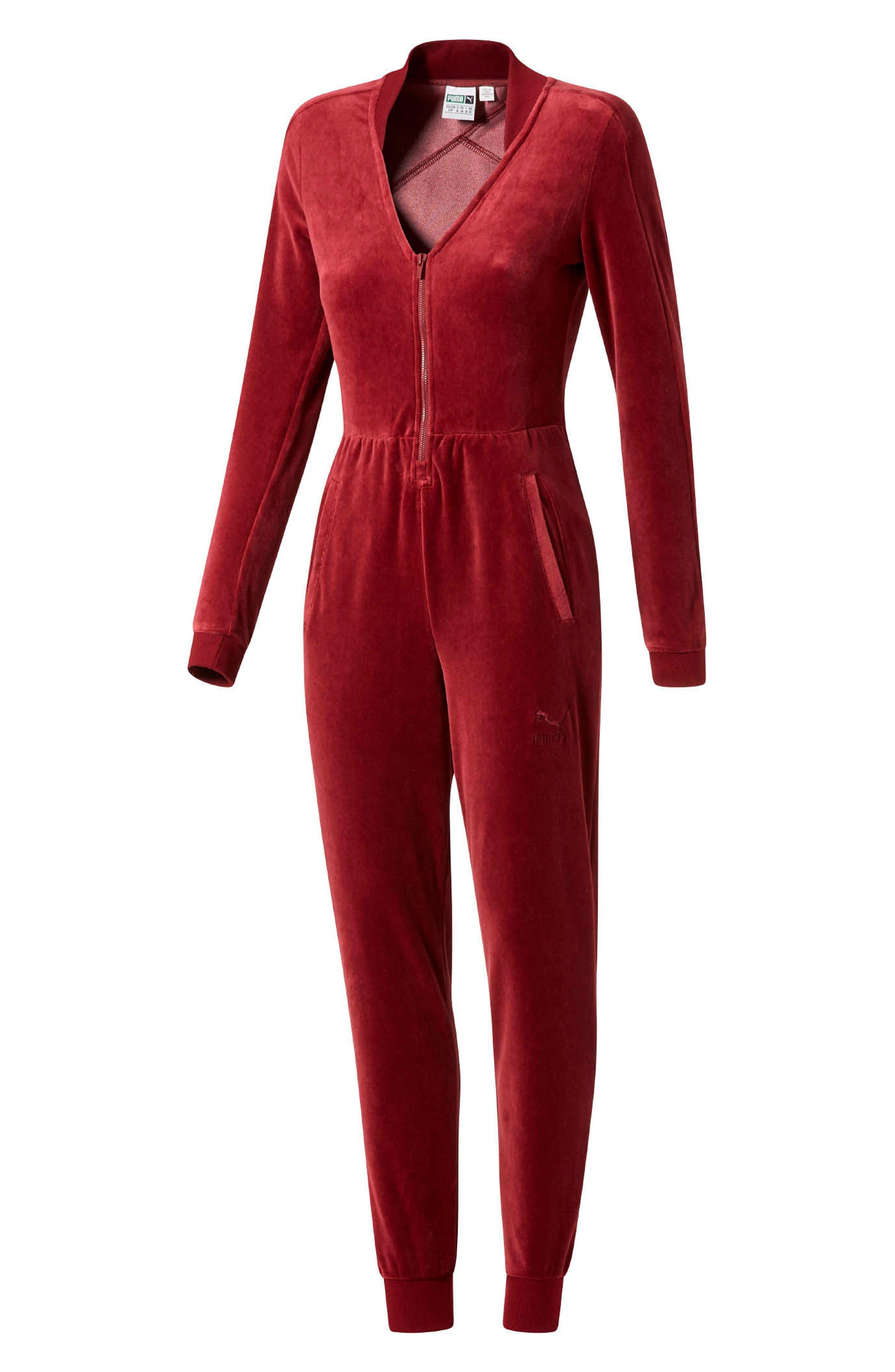 Velour T7 Jumpsuit,                             Main thumbnail 2, color,