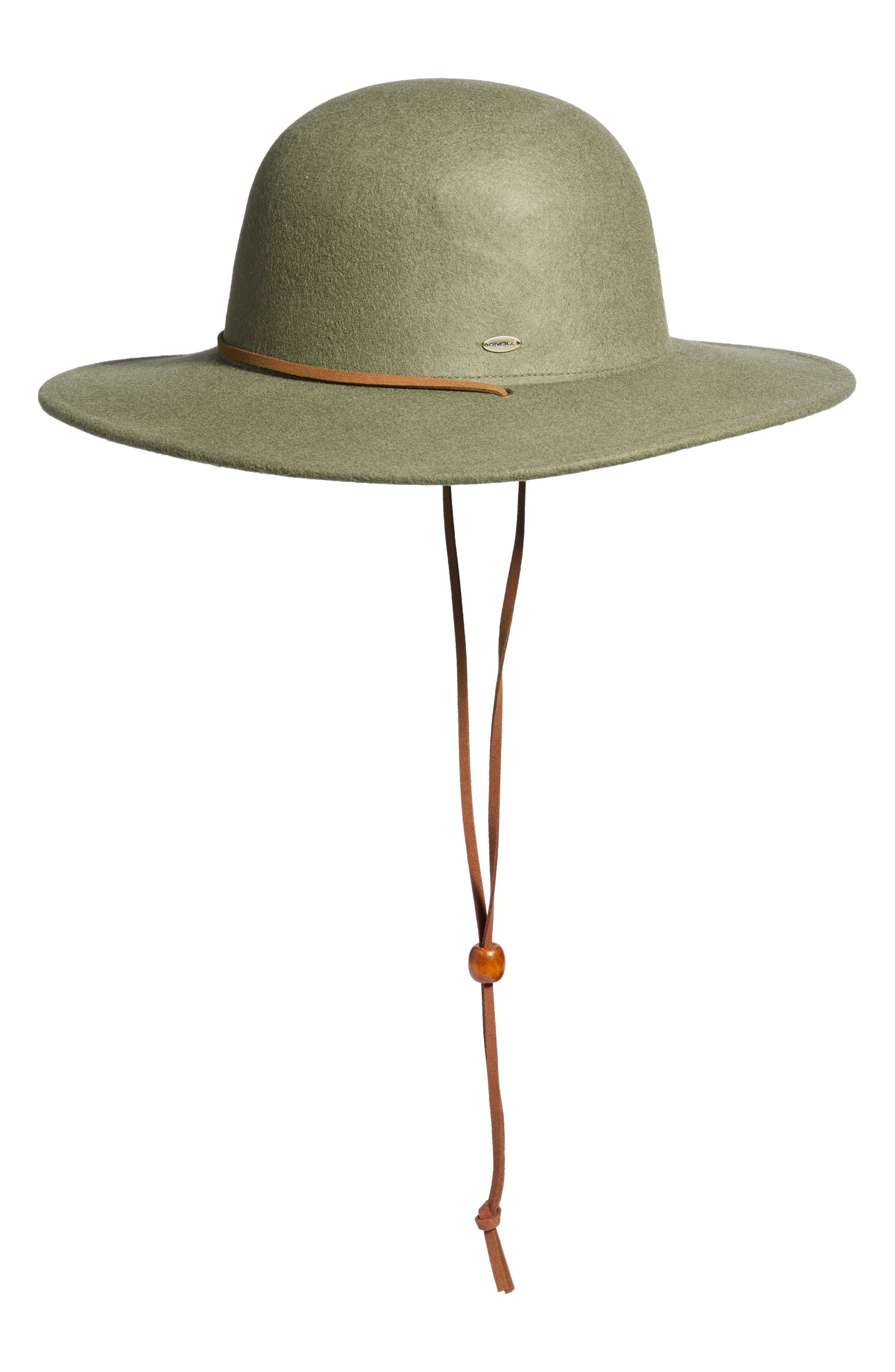 Trail Ride Wool Felt Hat,                         Main,                         color, KANGAROO