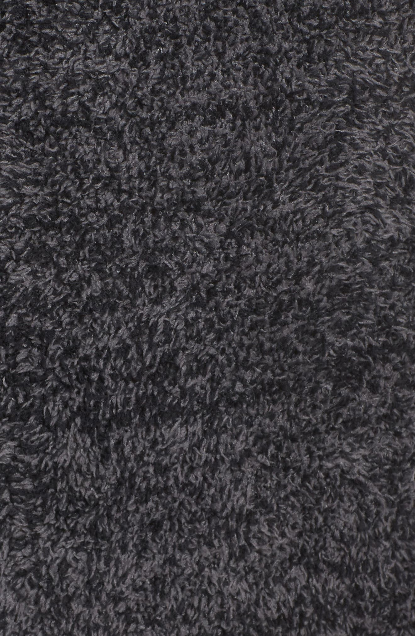 CozyChic<sup>®</sup> Robe,                             Alternate thumbnail 5, color,                             BLACK/ GRAPHITE
