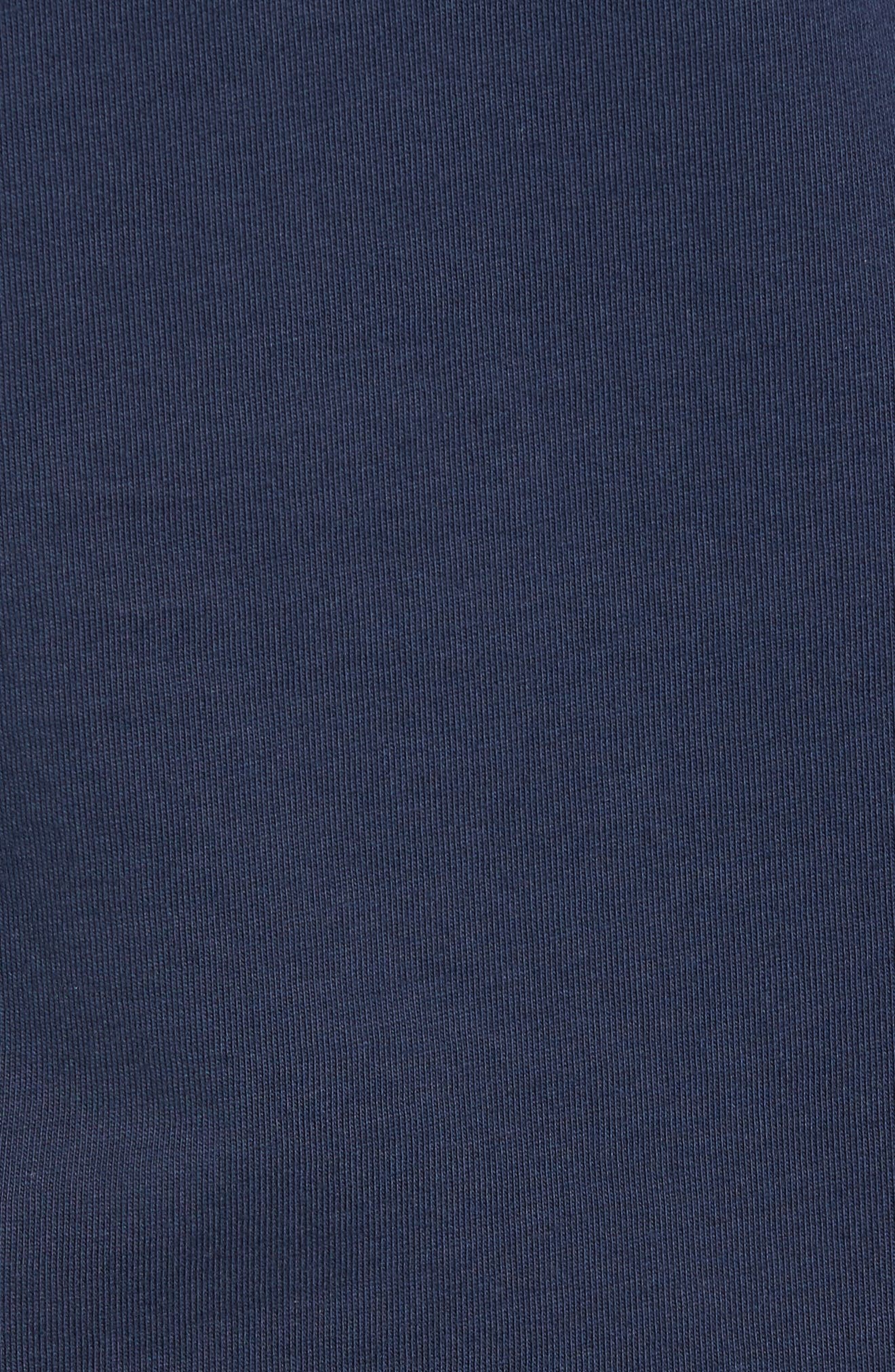 Turkey Whale Graphic Long Sleeve Pocket T-Shirt,                             Alternate thumbnail 5, color,                             406