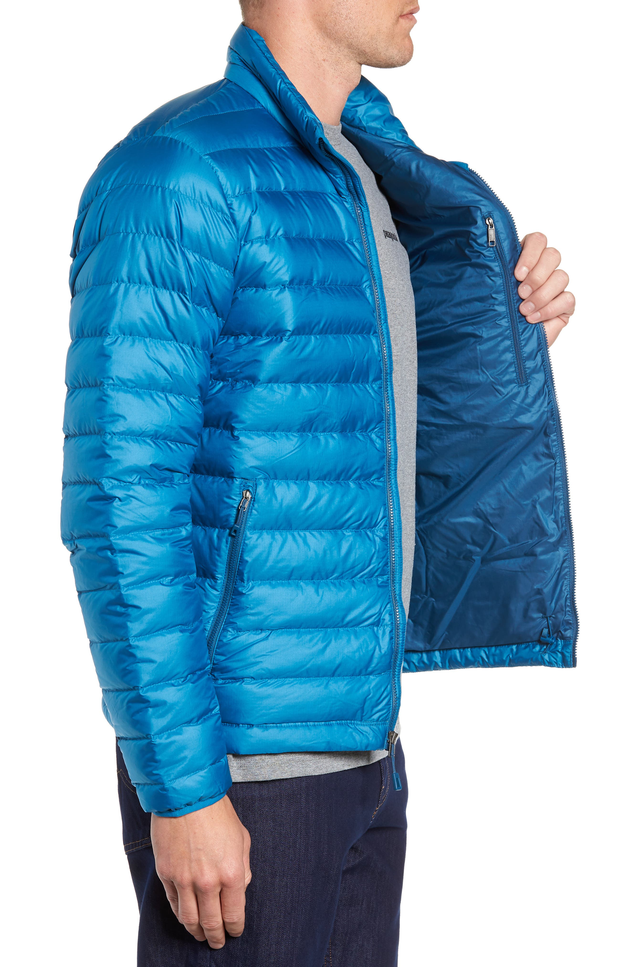 Water Repellent Down Jacket,                             Alternate thumbnail 47, color,