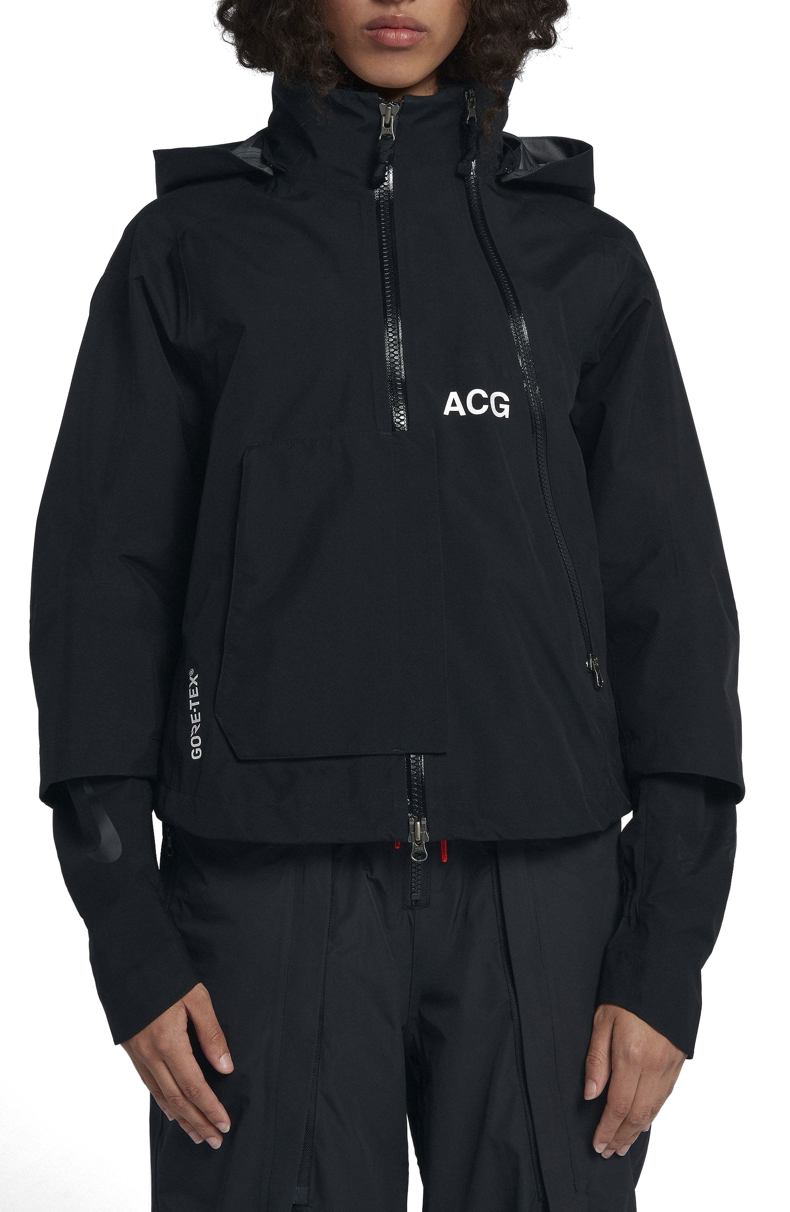 NikeLab ACG Gore-Tex<sup>®</sup> Women's Jacket,                             Main thumbnail 1, color,                             010