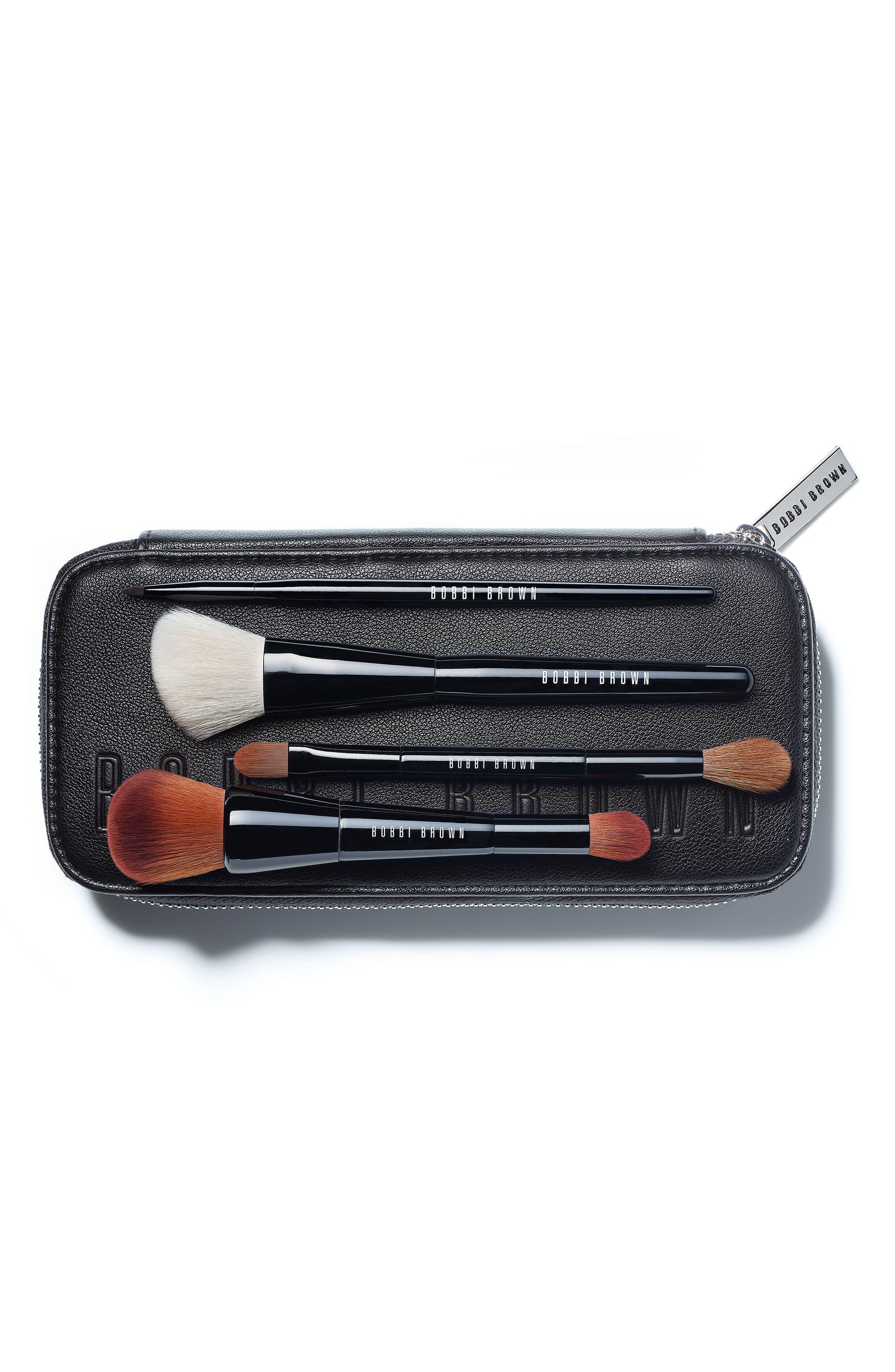 Pro Brush Set,                             Main thumbnail 1, color,                             000