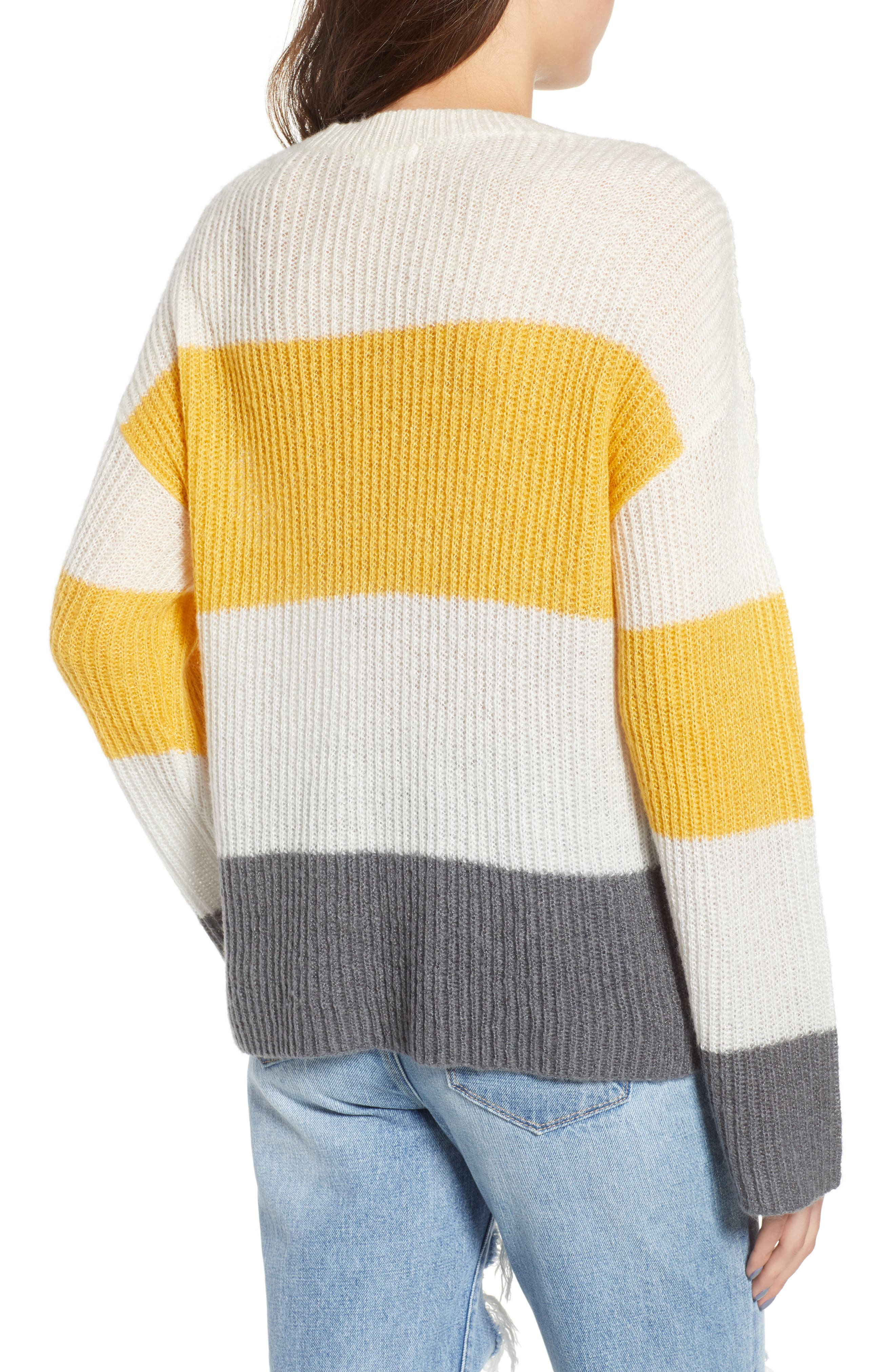 Stripe Pullover,                             Alternate thumbnail 2, color,                             900