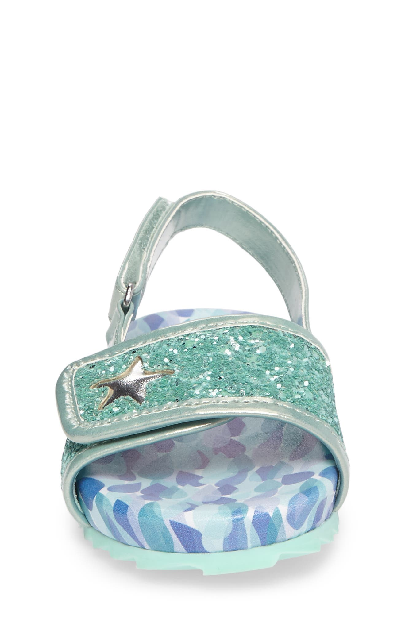 WELLIEWISHERS FROM AMERICAN GIRL,                             Camille Raindrop Strap Sandal,                             Alternate thumbnail 4, color,                             300