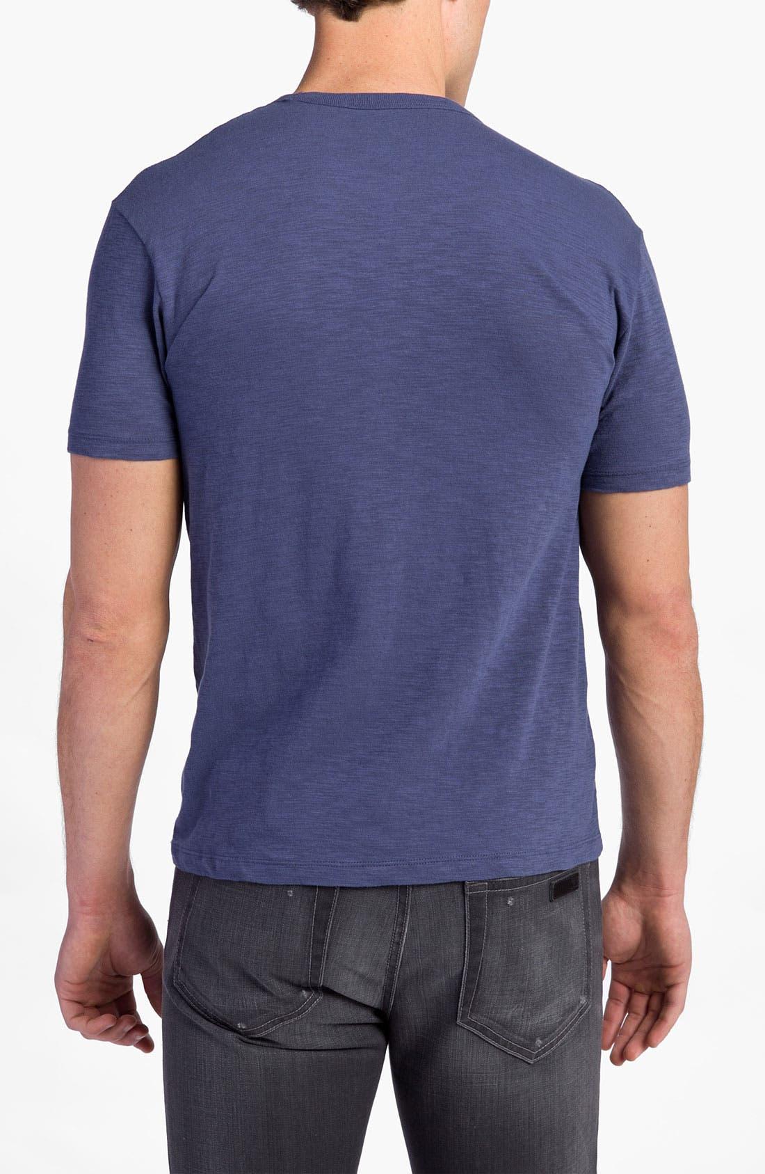 'Chicago Cubs' Regular Fit Crewneck T-Shirt,                             Alternate thumbnail 56, color,