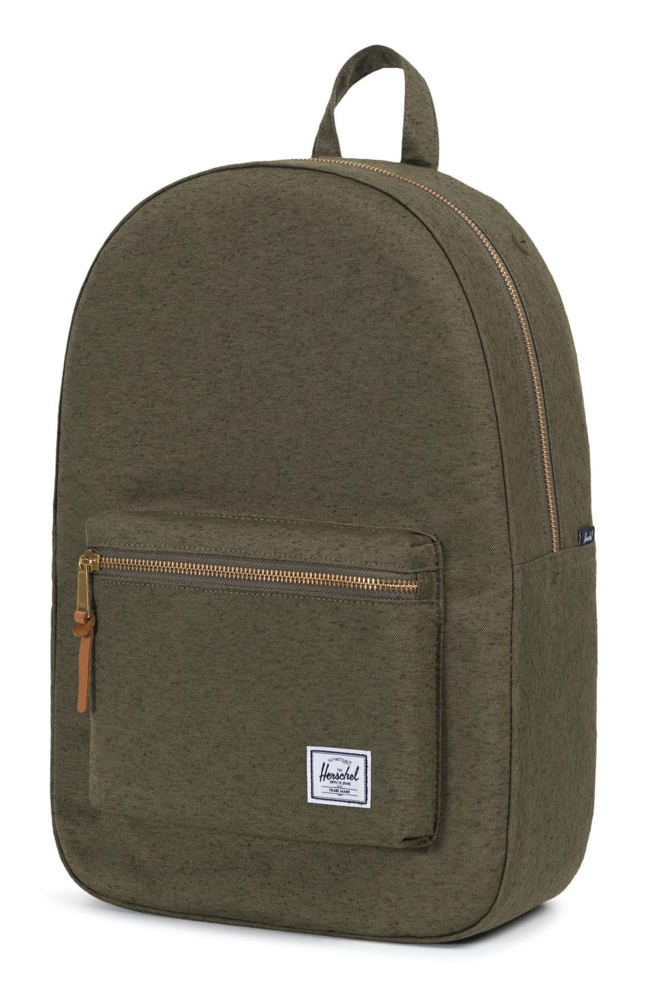 Settlement Backpack,                             Alternate thumbnail 5, color,                             IVY GREEN SLUB