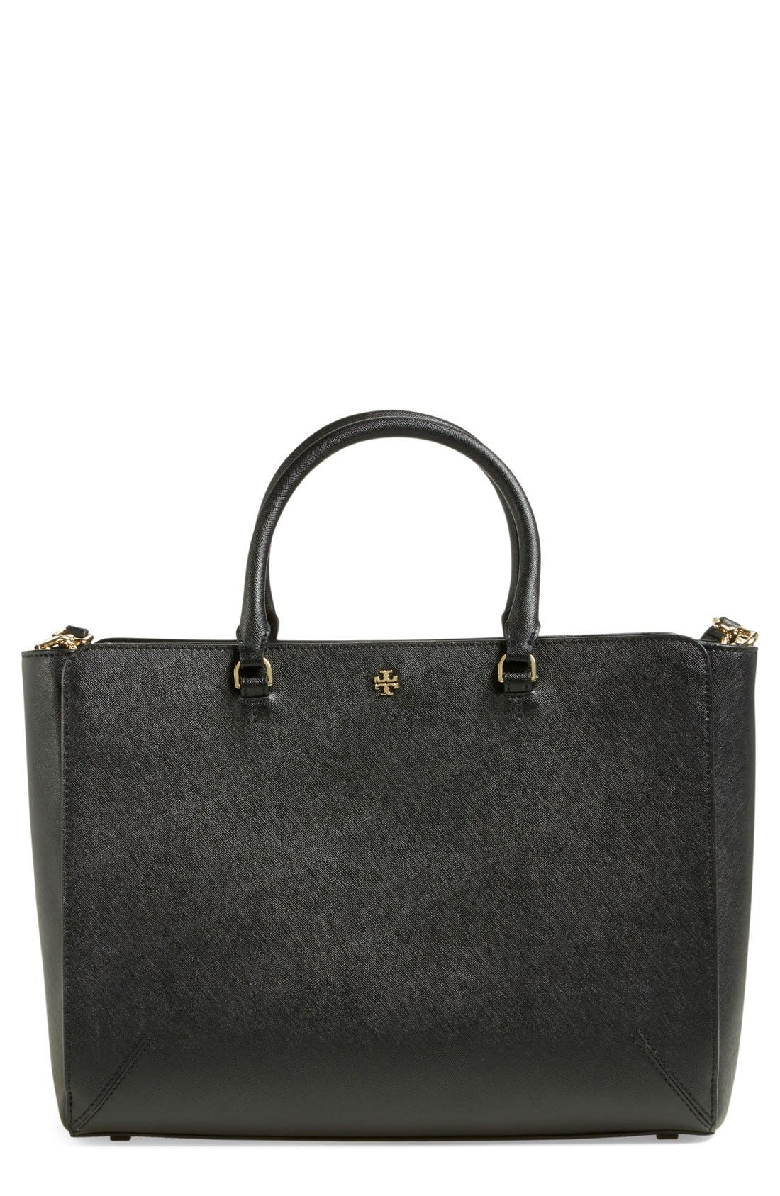 'Large Robinson' Zip Tote, Main, color, 002