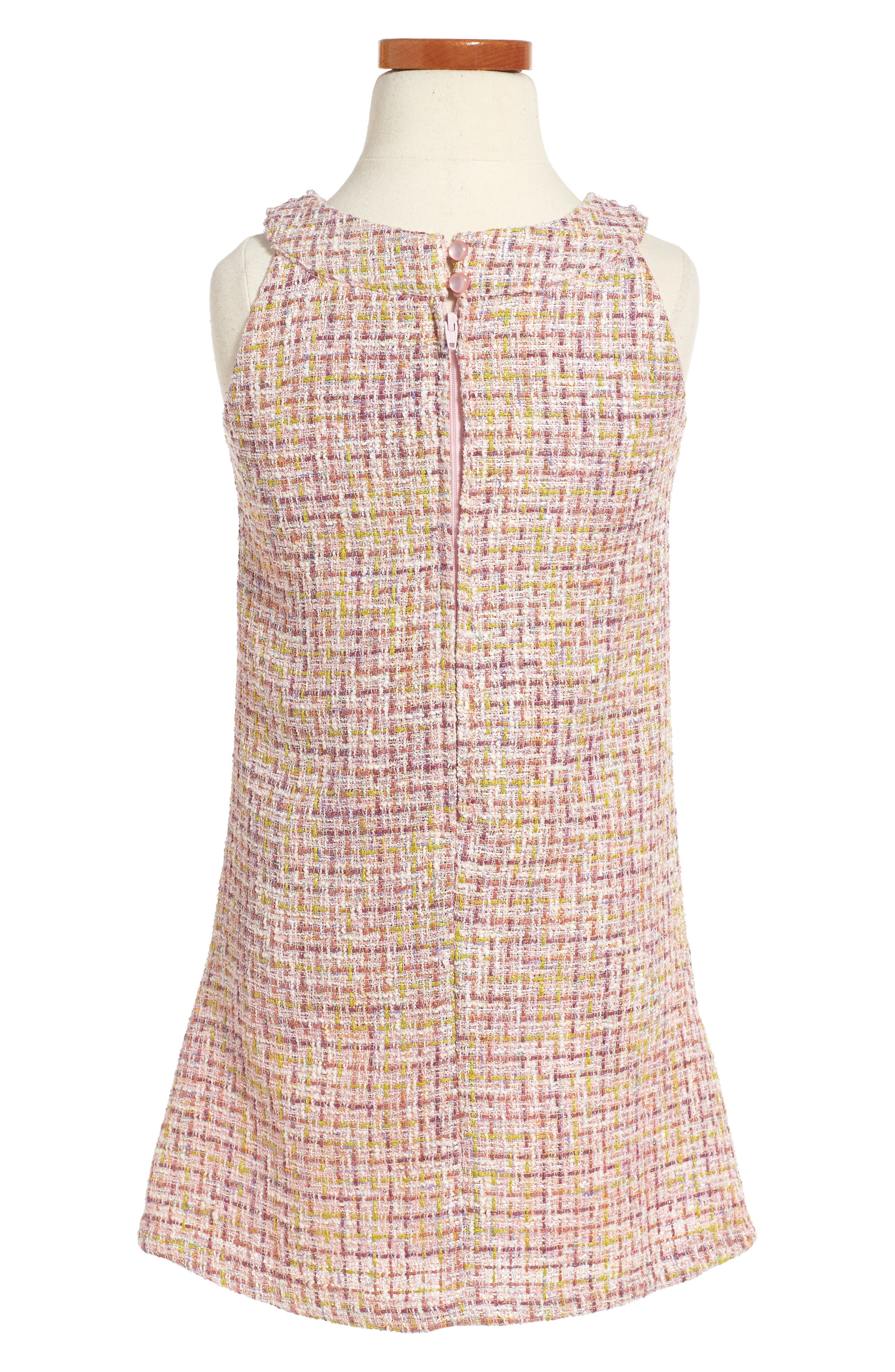 Ringer A-Line Dress,                             Alternate thumbnail 2, color,                             650