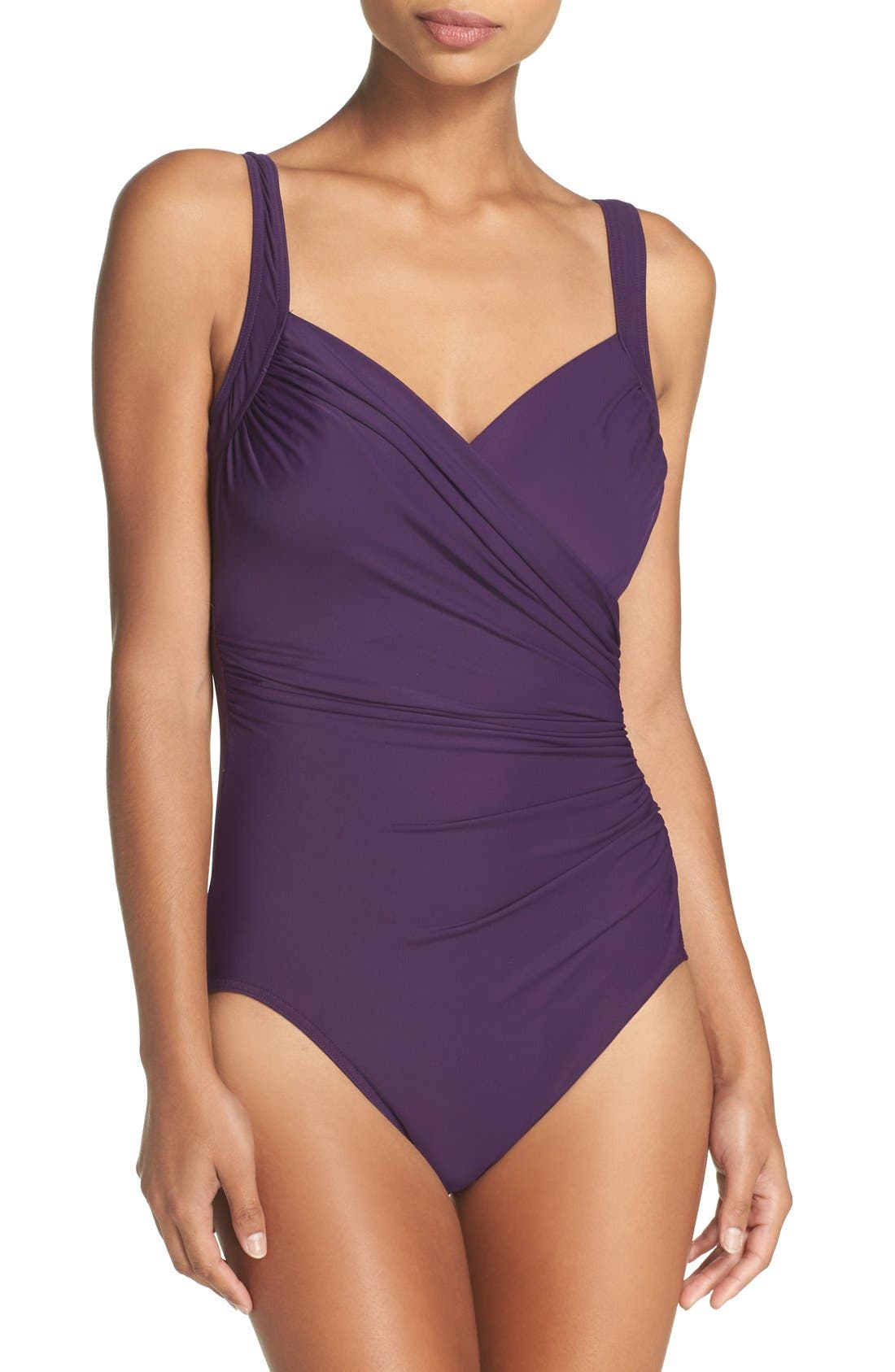 'Sanibel' Underwire One-Piece Swimsuit,                             Main thumbnail 8, color,