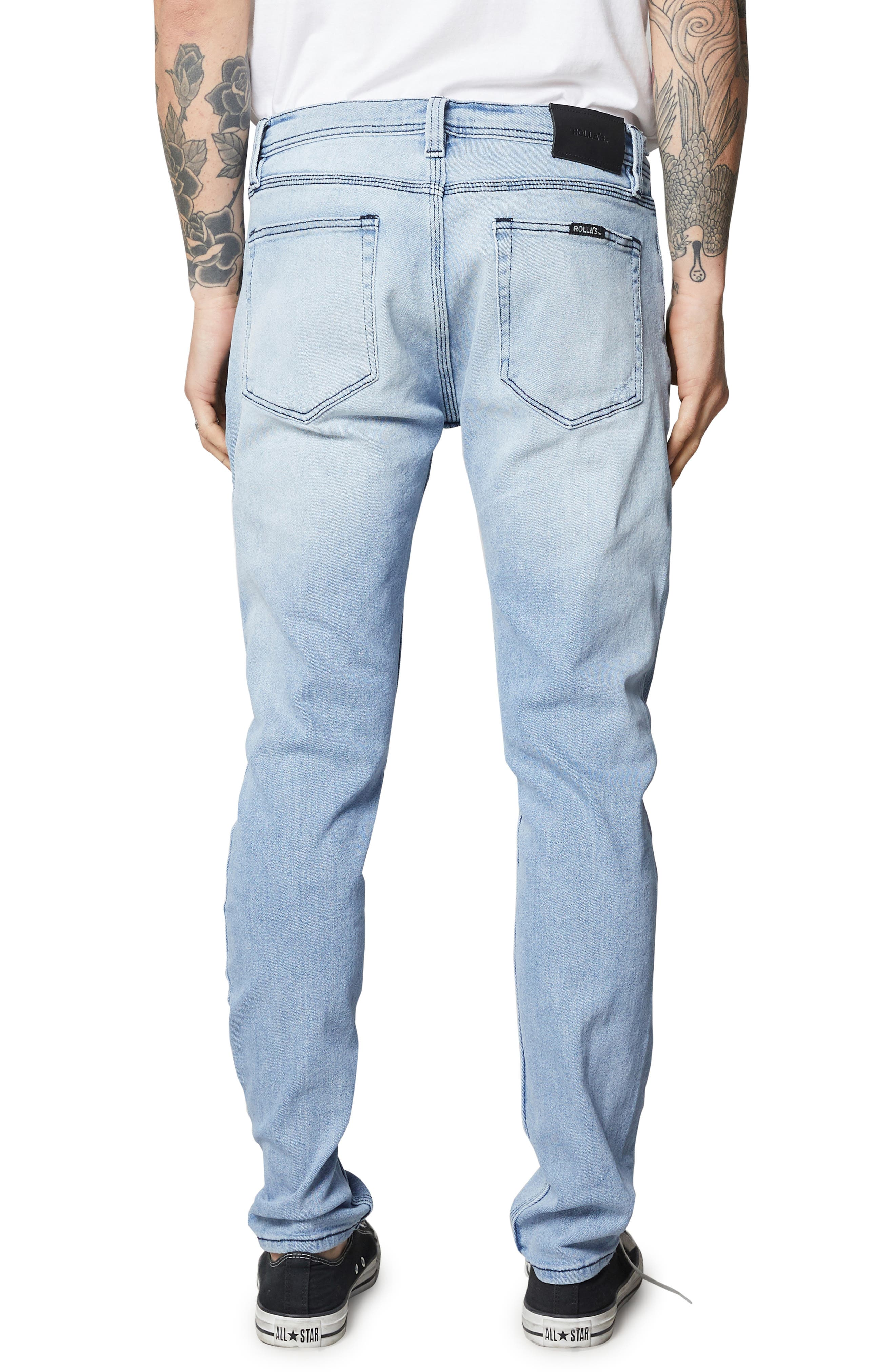 ROLLA'S,                             Stinger Skinny Fit Jeans,                             Alternate thumbnail 2, color,                             403
