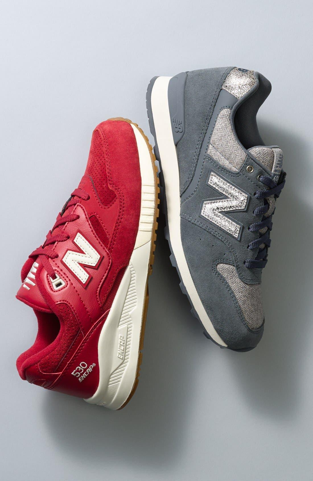 '696' Sneaker,                             Alternate thumbnail 6, color,                             001