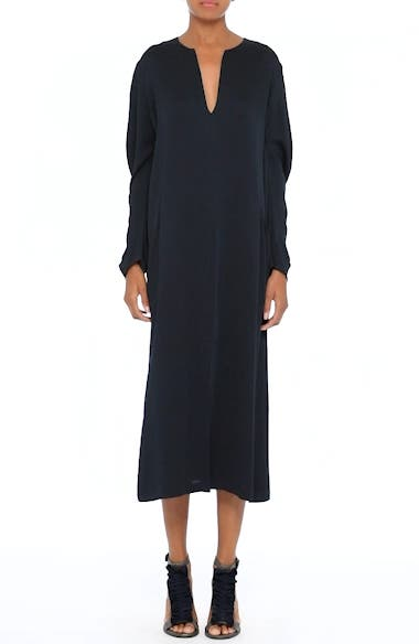 Alternate Video 7  - Zero + Maria Cornejo Eco Drape Midi Dress