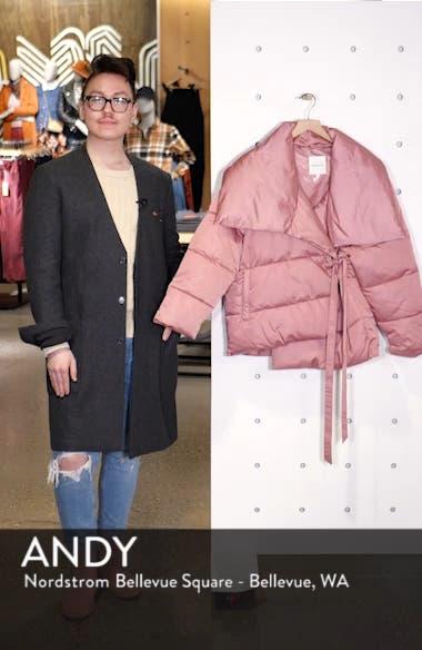 Wrap Puffer Jacket, sales video thumbnail