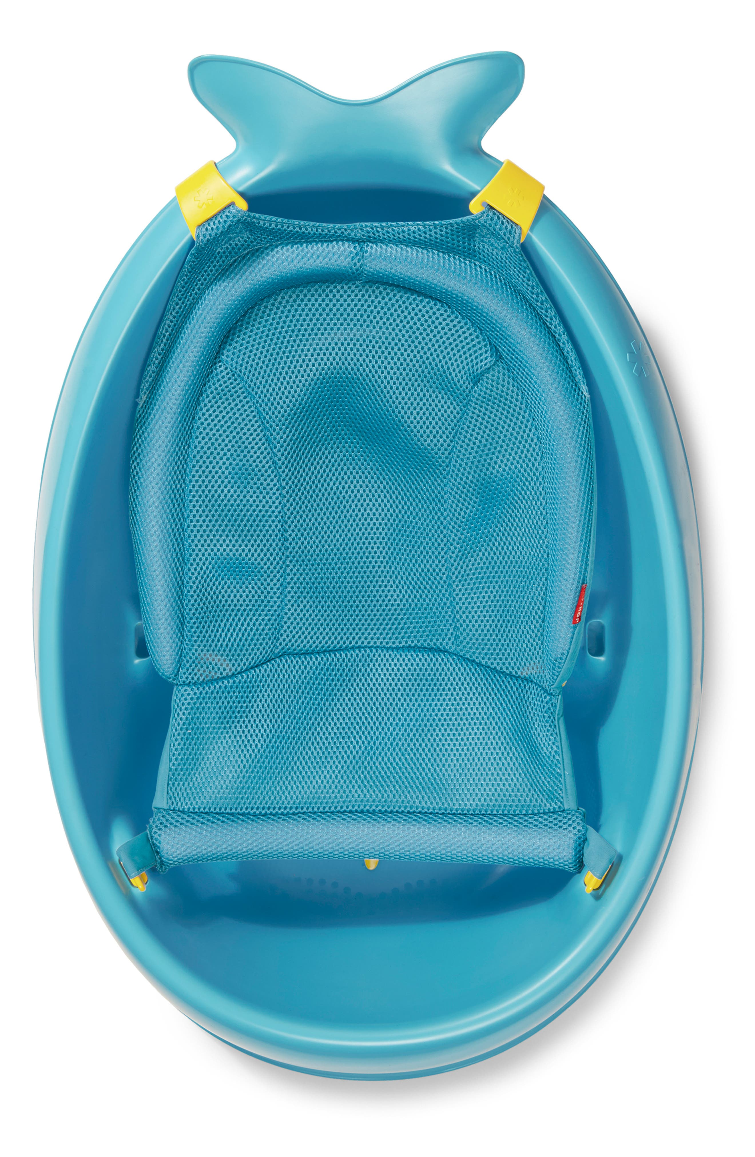 'Moby Smart Sling' Three-Stage Tub,                             Alternate thumbnail 5, color,                             BLUE
