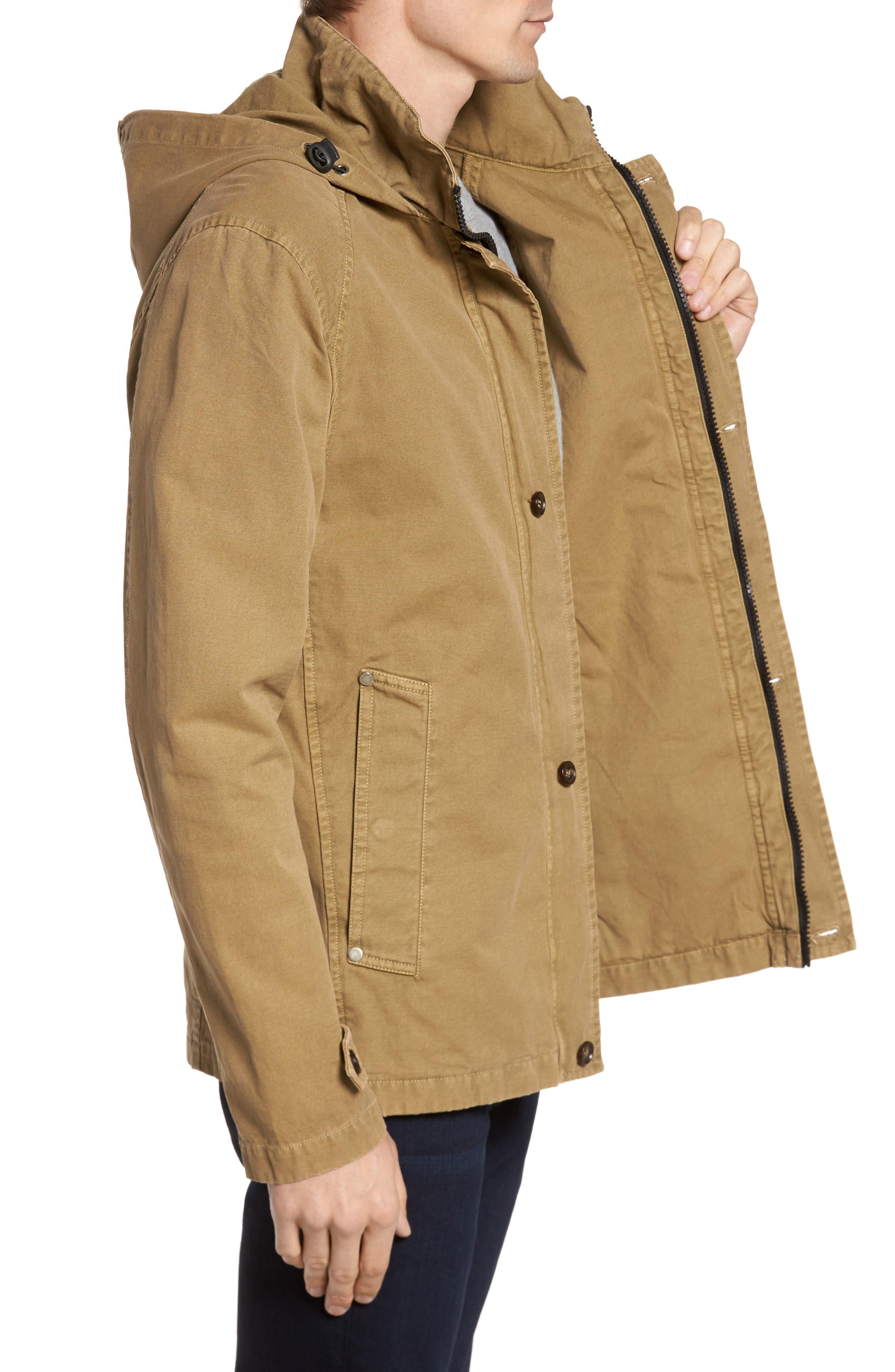 Herman Twill Hooded Jacket,                             Alternate thumbnail 3, color,                             250