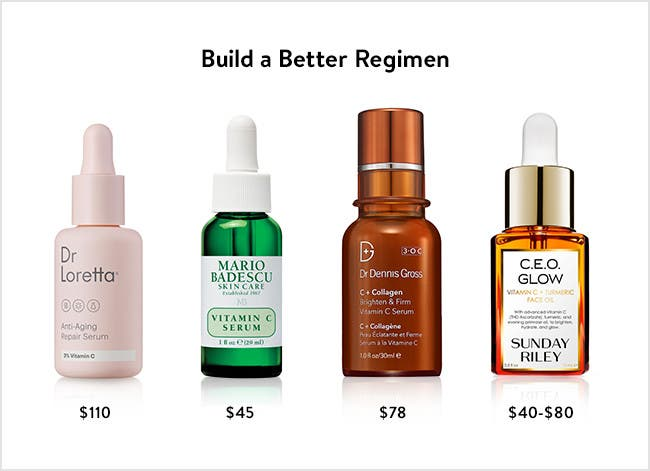 Build a better skin care regimen.