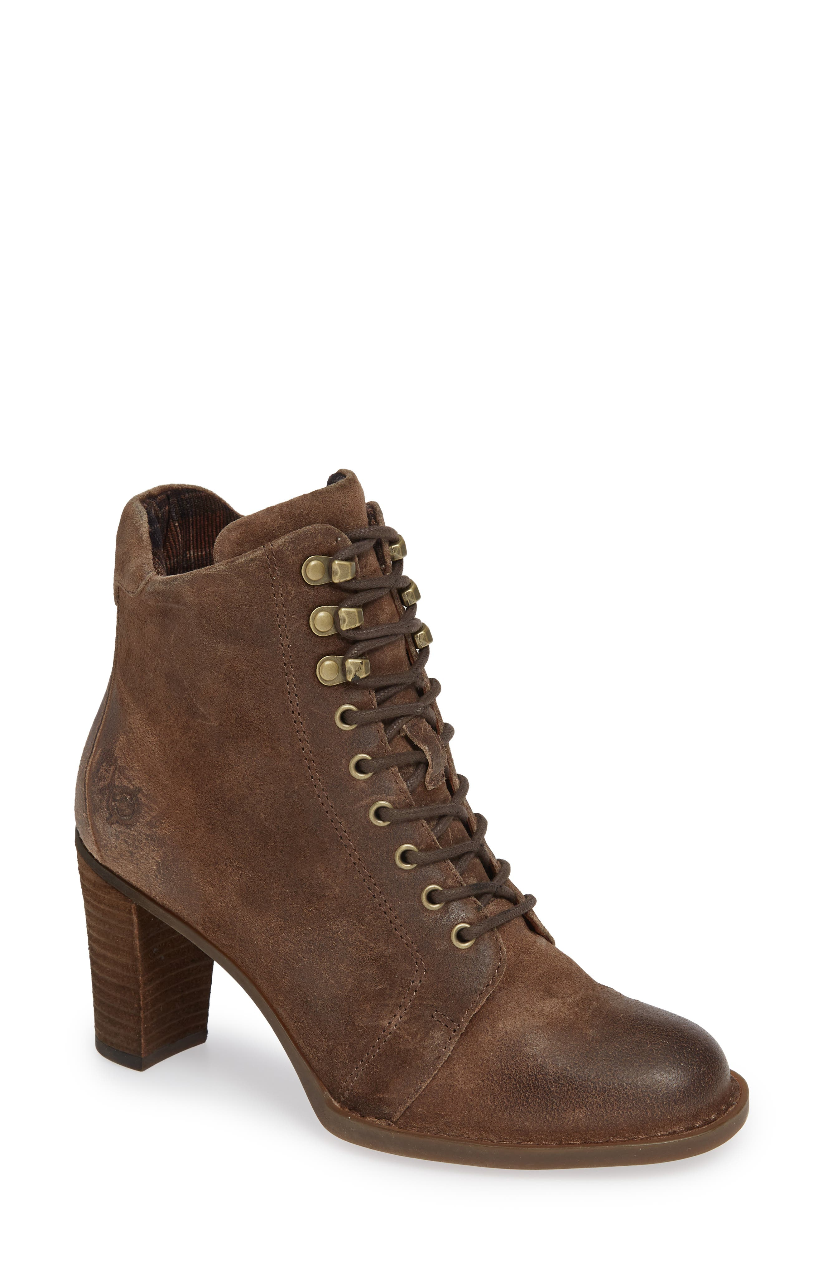 B?rn Gosford Lace-Up Boot, Beige