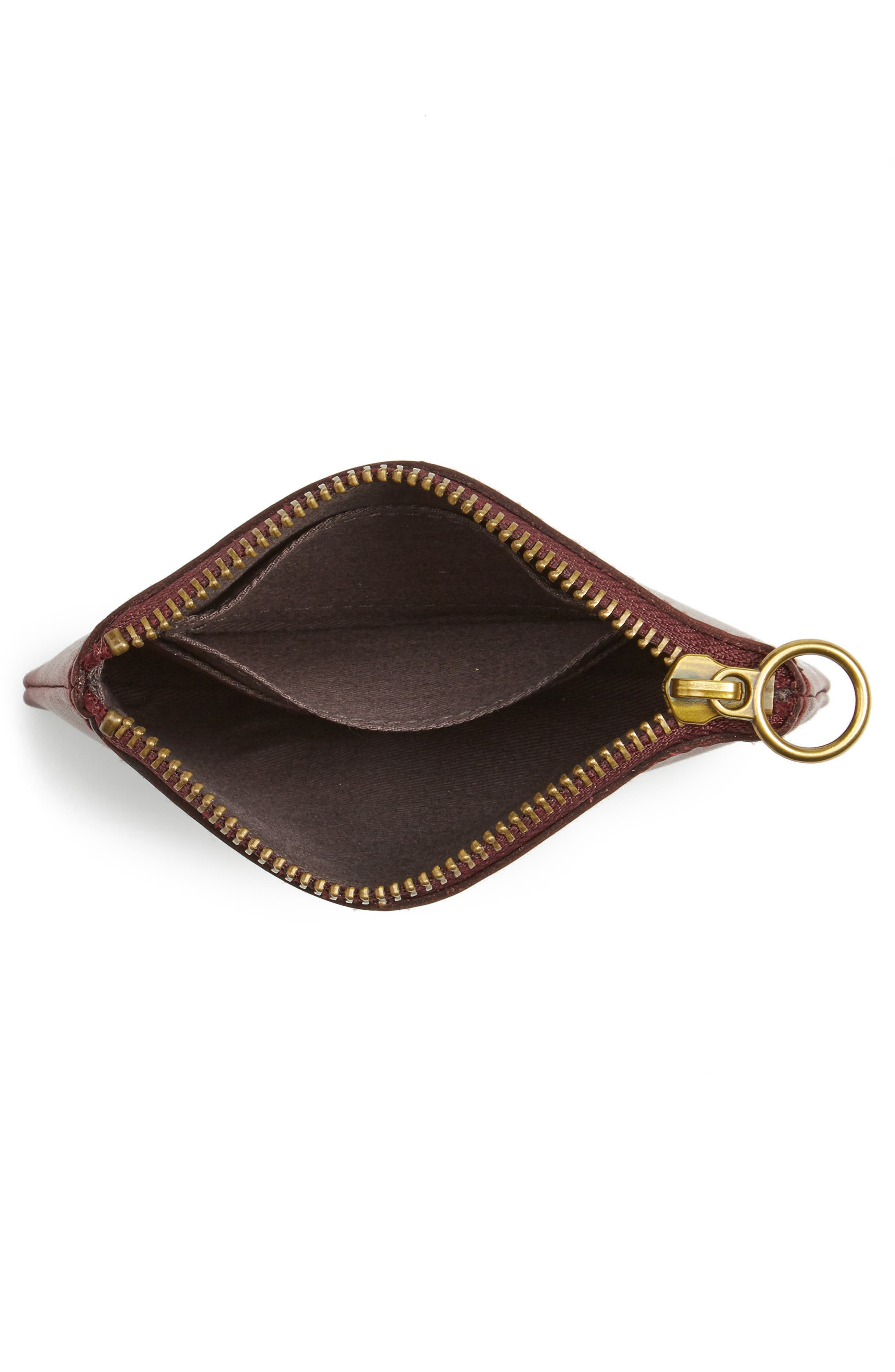 The Leather Pouch Wallet,                             Alternate thumbnail 4, color,