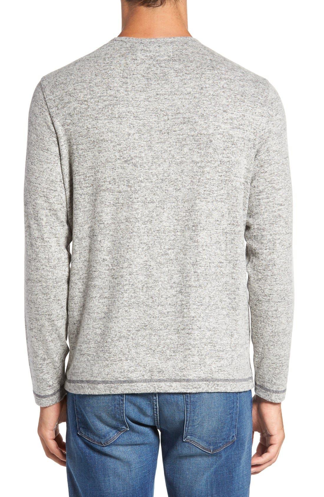 'Leeward' V-Neck Long Sleeve T-Shirt,                             Alternate thumbnail 2, color,                             050