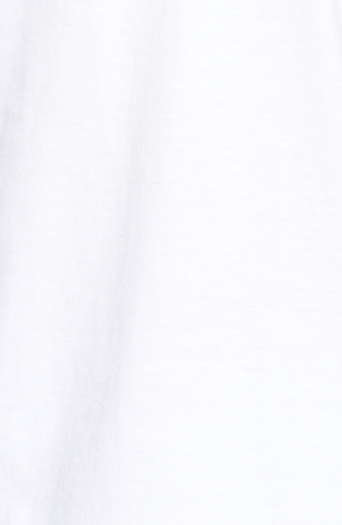 4-Pack V-Neck T-Shirt,                             Alternate thumbnail 4, color,                             WHITE
