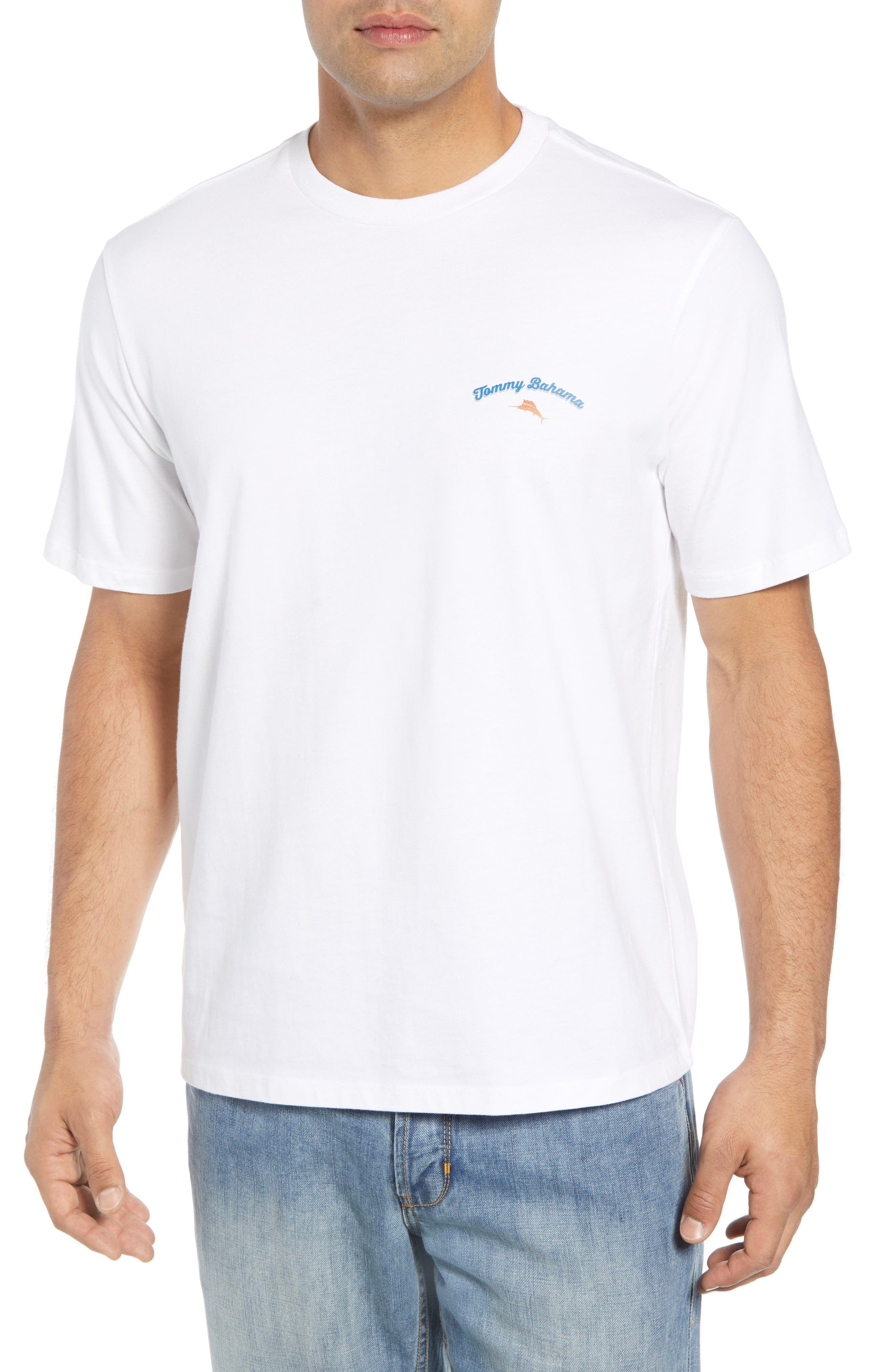 It's Glow Time T-Shirt,                             Main thumbnail 1, color,                             WHITE