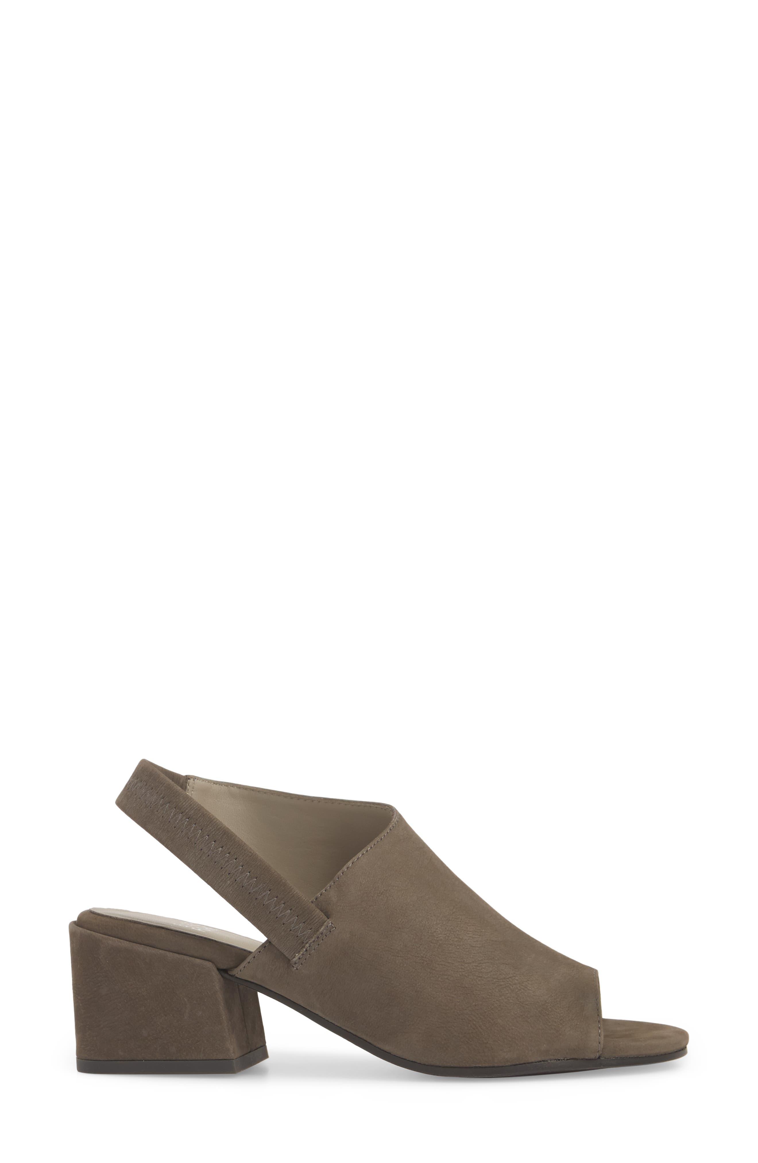 Leigh Asymmetrical Slingback Sandal,                             Alternate thumbnail 9, color,