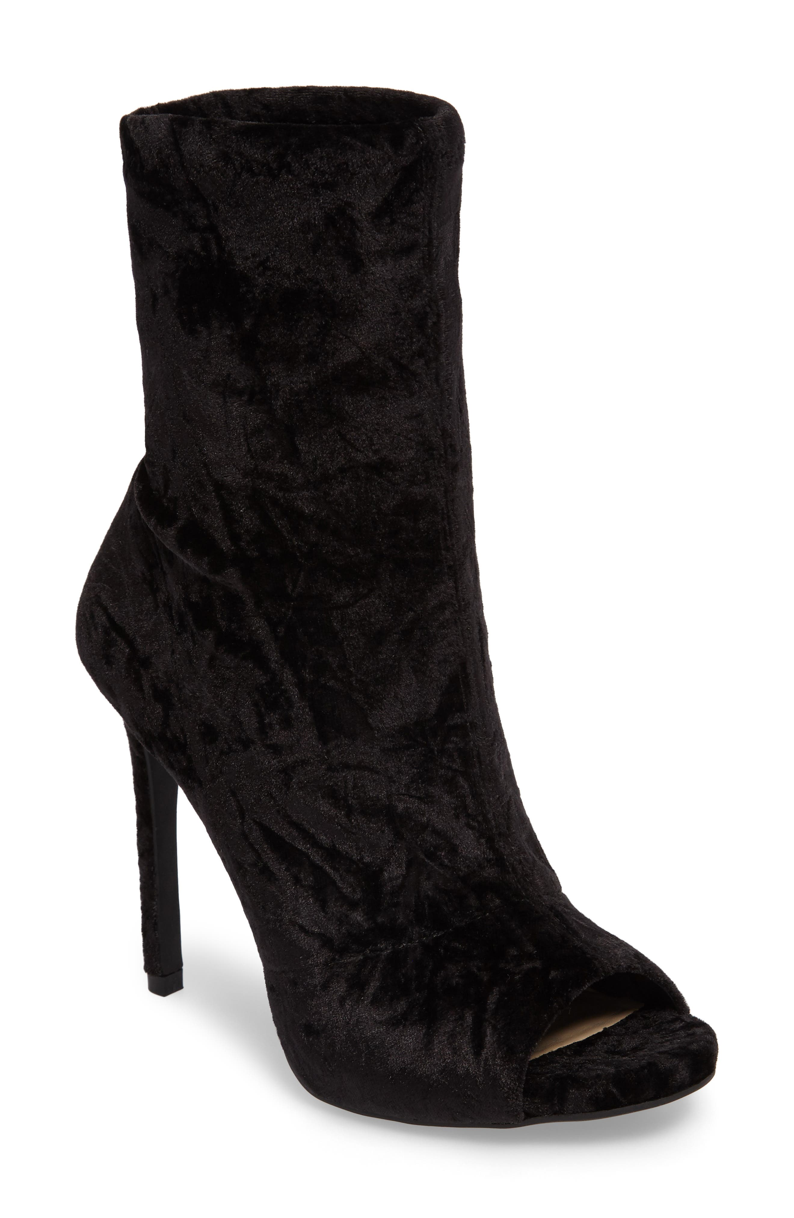 Rainer Peep Toe Bootie,                             Main thumbnail 1, color,