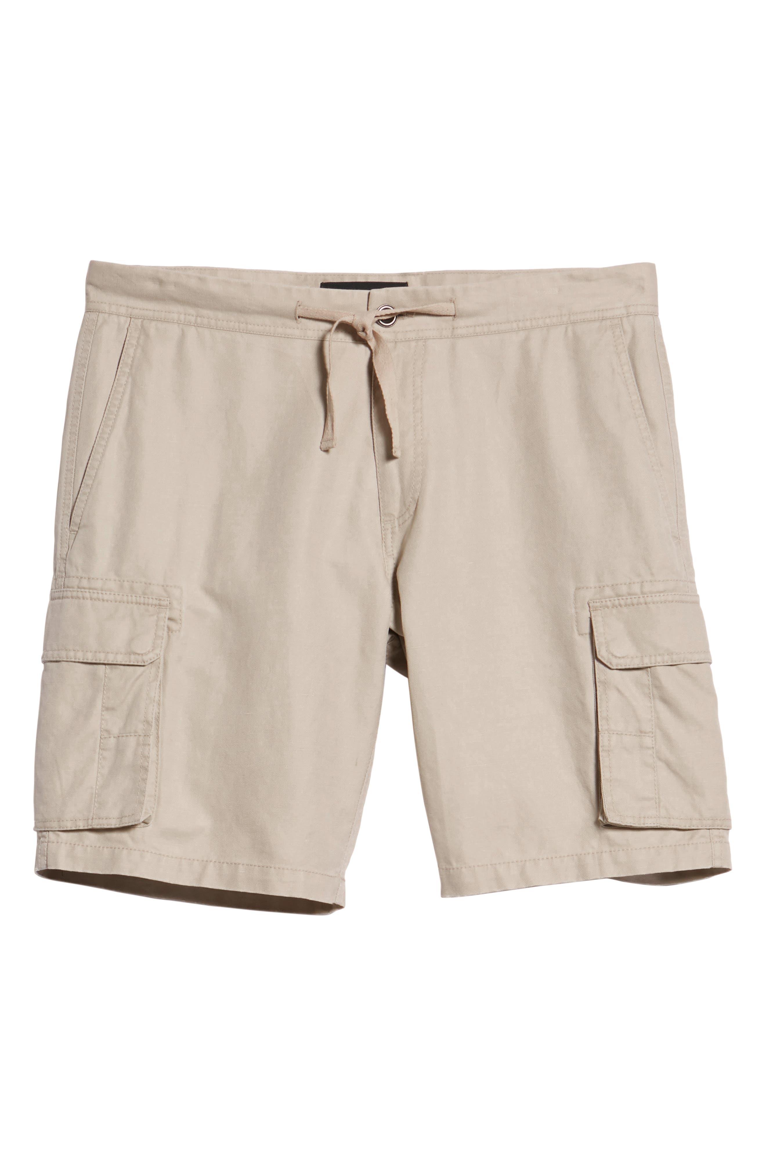 Sandyford Cargo Shorts,                             Alternate thumbnail 6, color,                             NATURAL