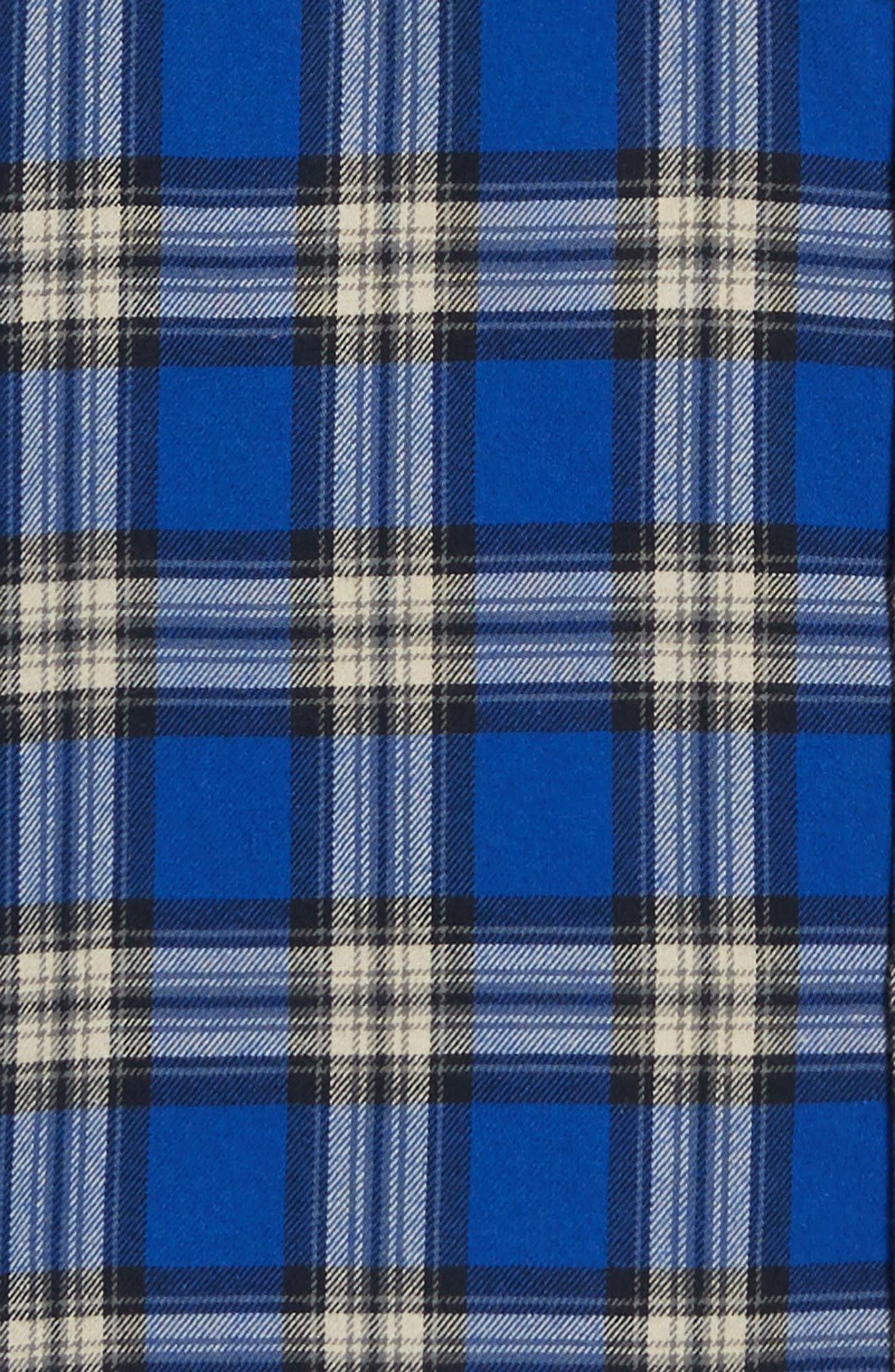 THE KOOPLES,                             Check Flannel Shirt,                             Alternate thumbnail 6, color,                             400