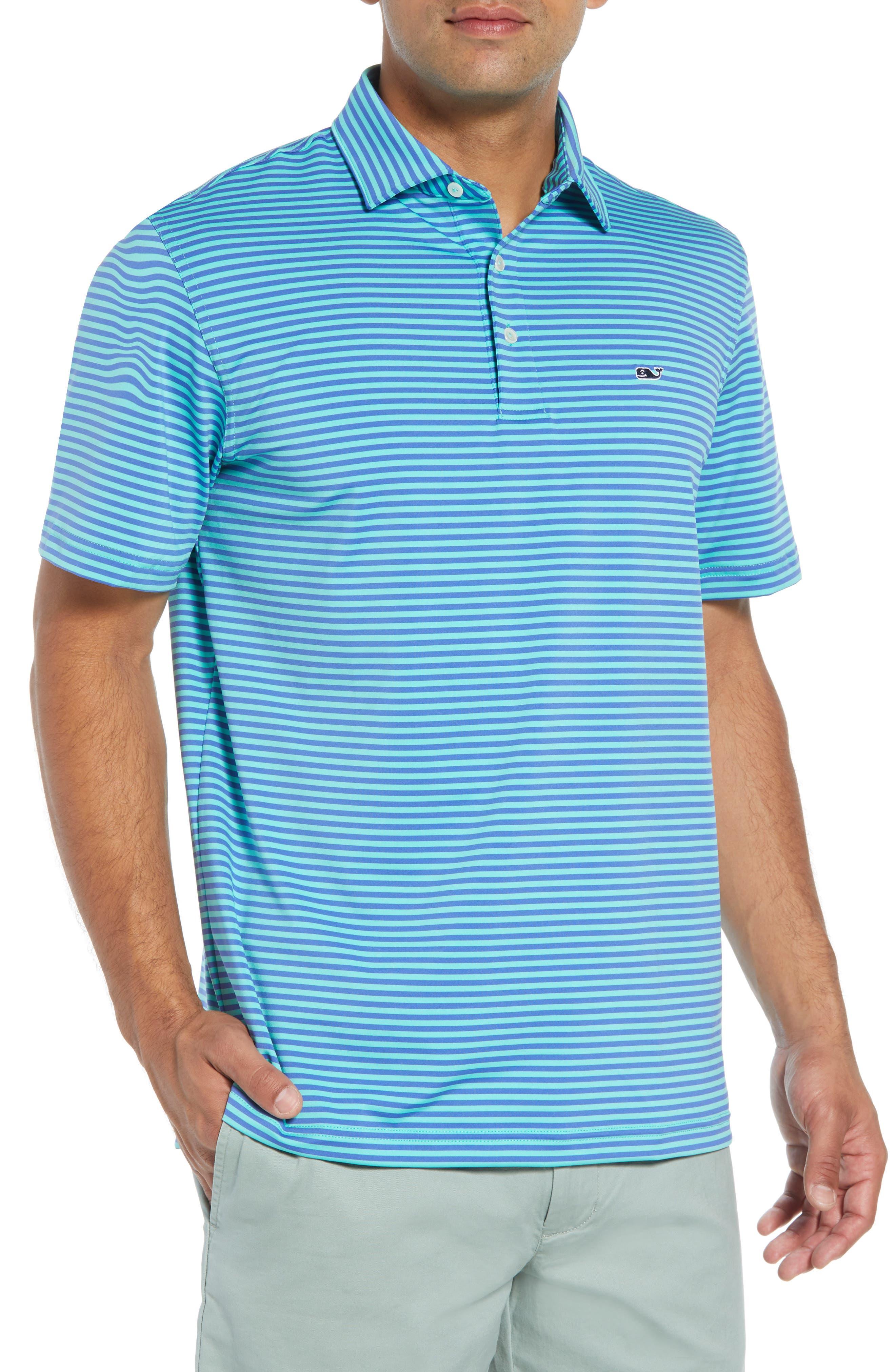 Kennedy Stripe Golf Polo,                             Main thumbnail 4, color,