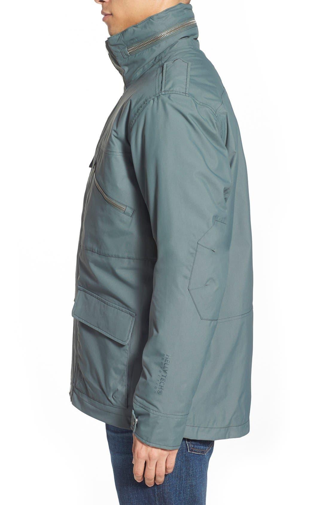 HellyHansen 'Universal' MotoRain Jacket,                             Alternate thumbnail 8, color,                             080