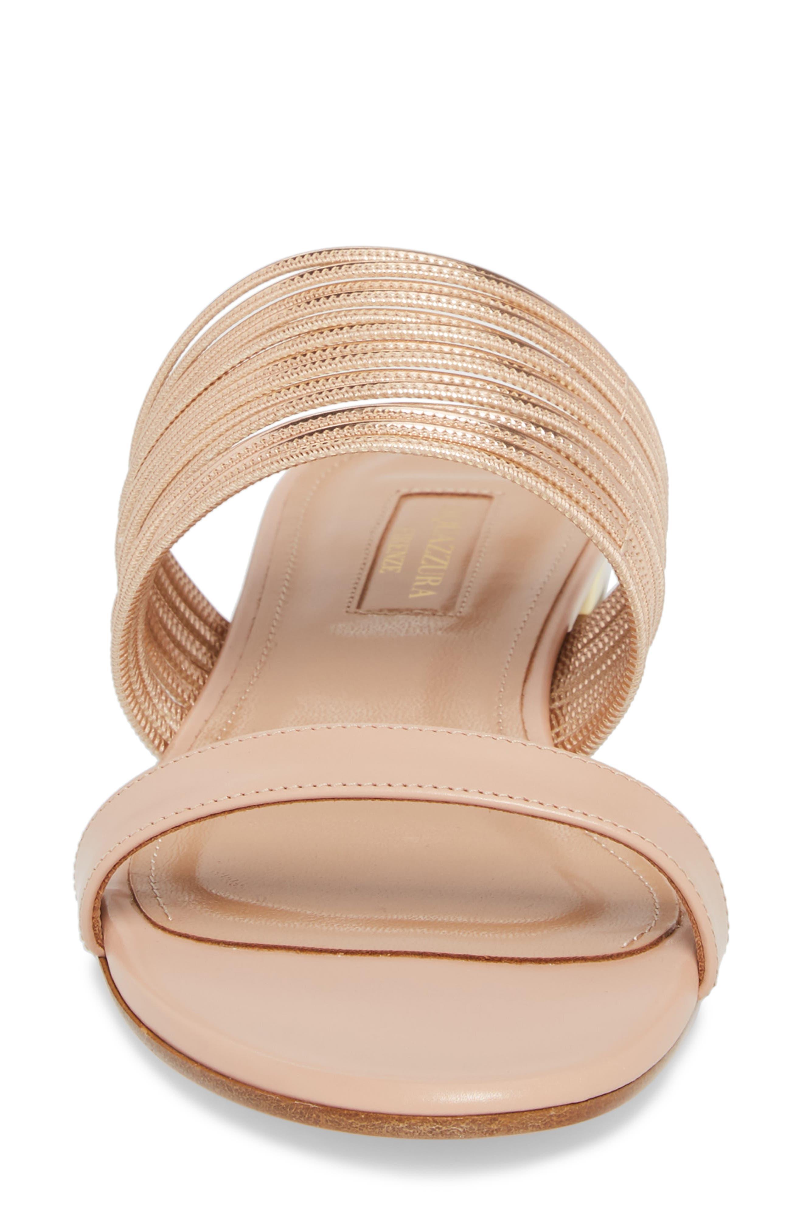 Rendezvous Metallic Sandal,                             Alternate thumbnail 4, color,                             POWDER PINK/CIPRIA