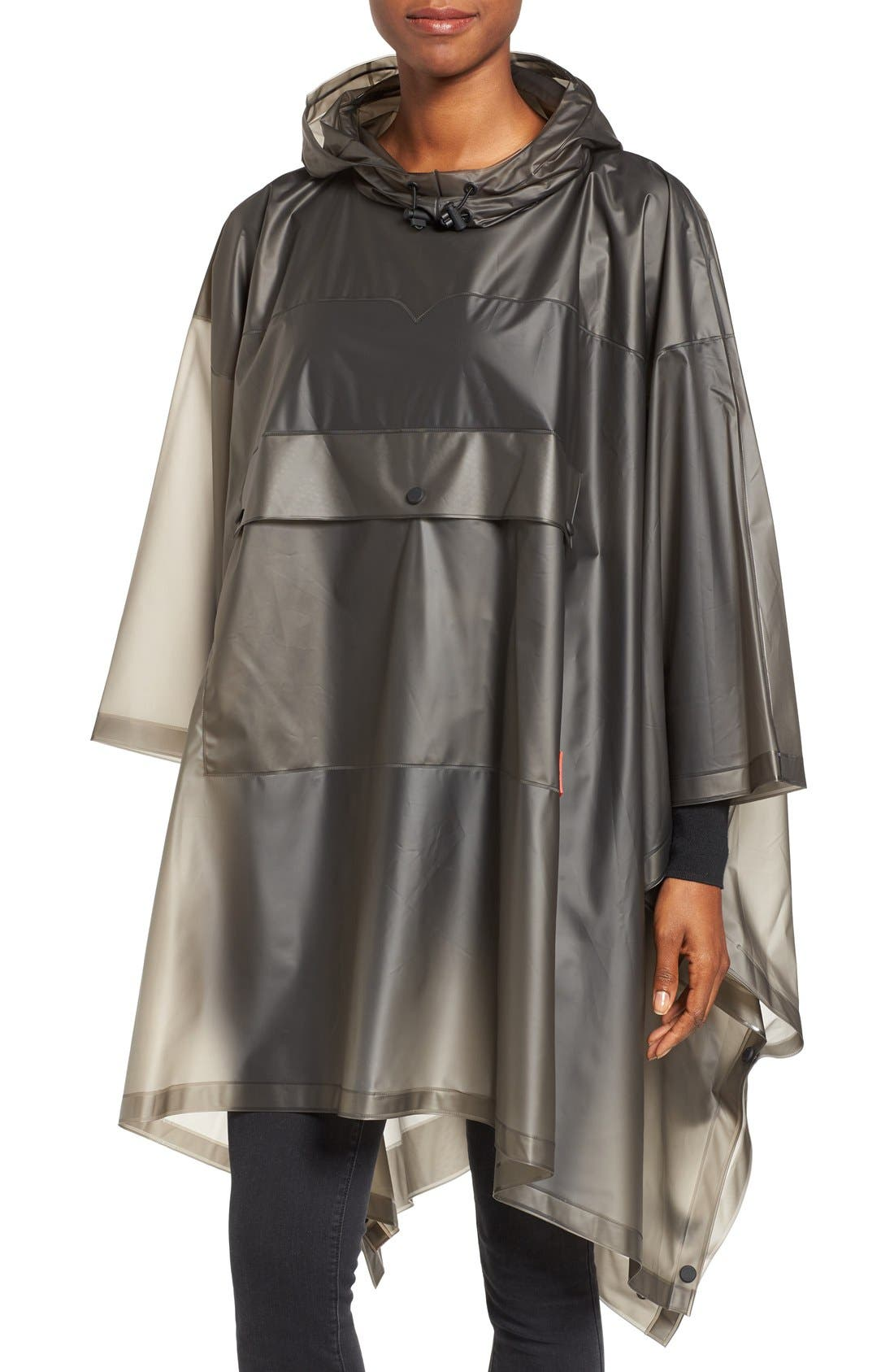 'Original' Waterproof Clear Poncho, Main, color, 022