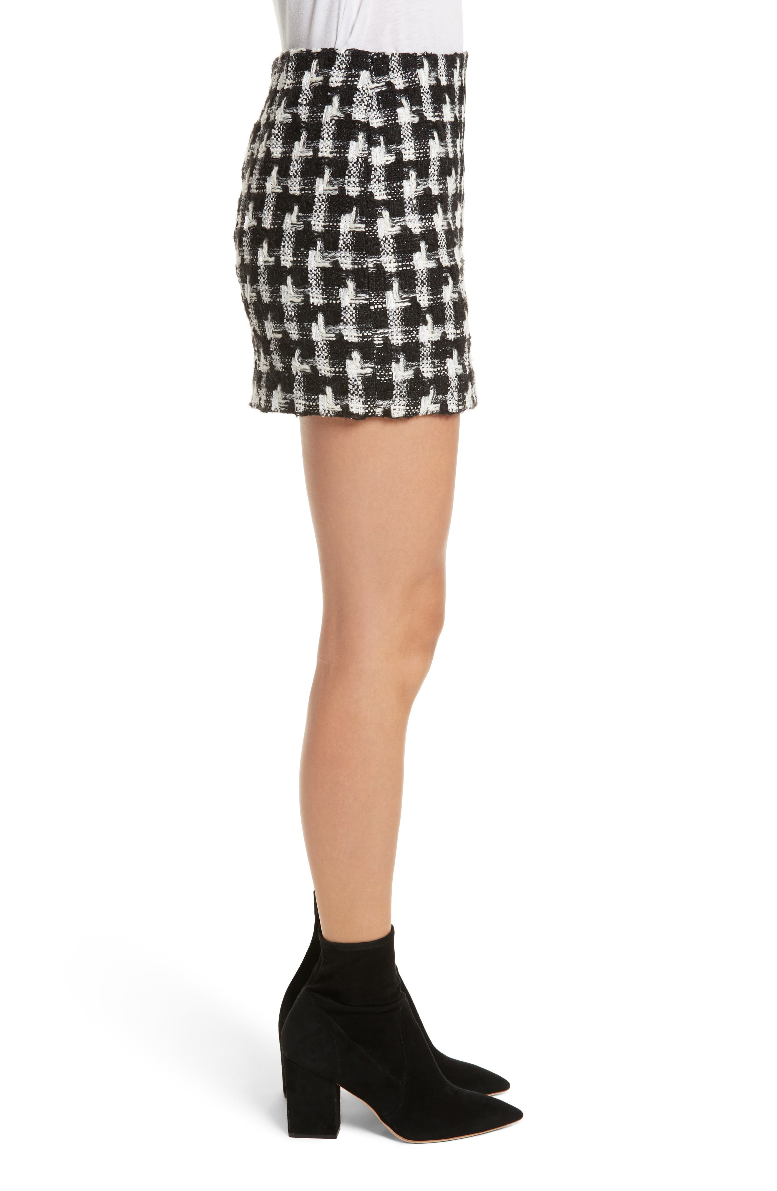Elana Miniskirt,                             Alternate thumbnail 3, color,                             009