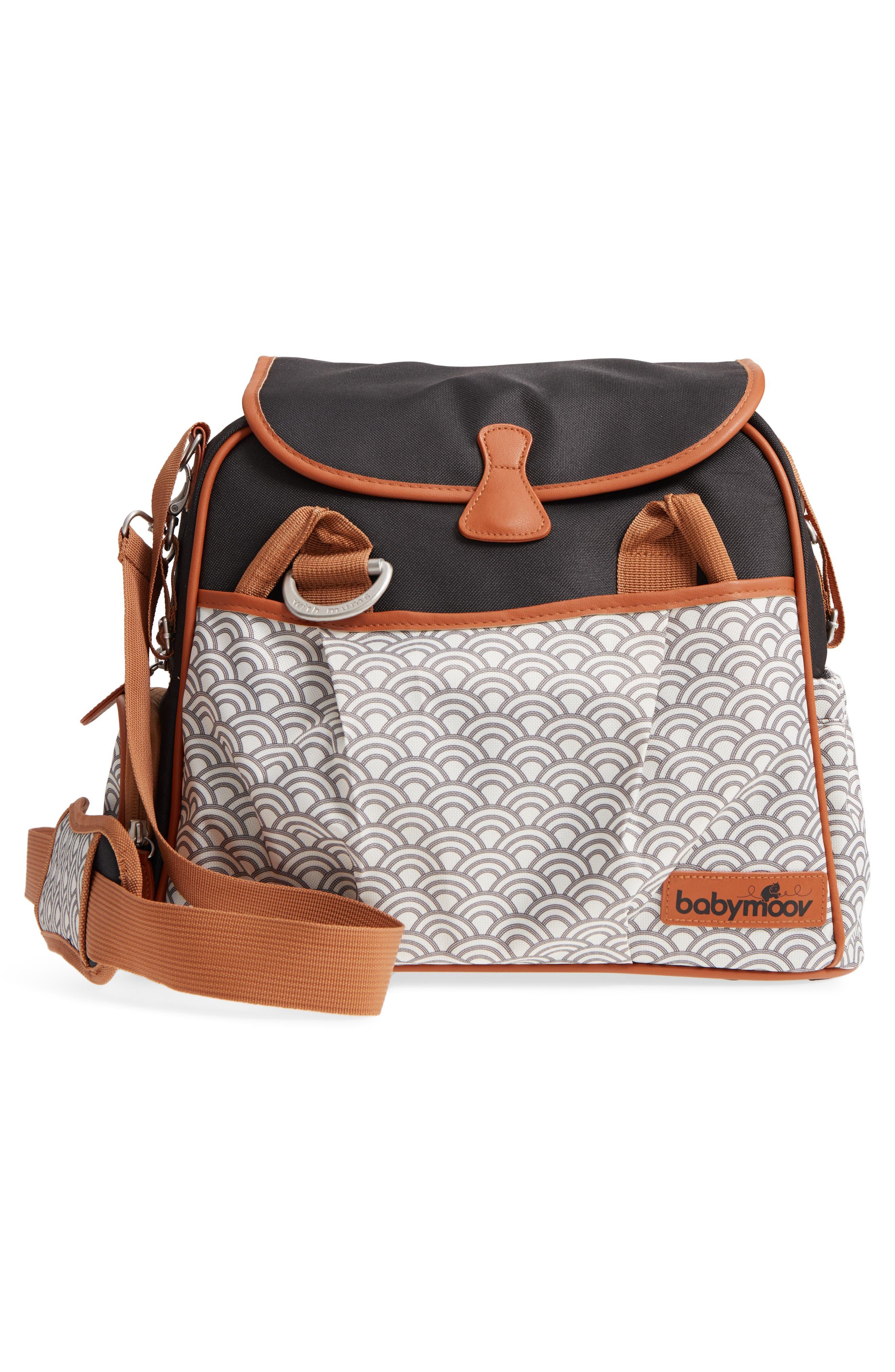 Style Diaper Bag,                             Alternate thumbnail 3, color,                             BLACK