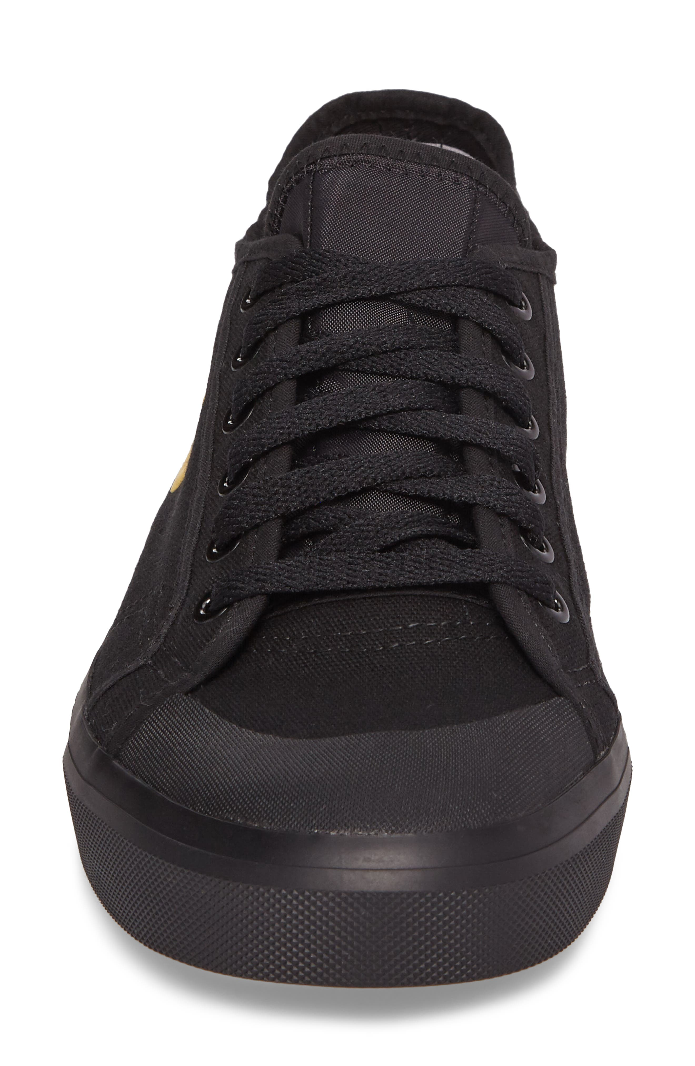 adidas by Raf Simons Spirit Low Top Sneaker,                             Alternate thumbnail 4, color,                             001