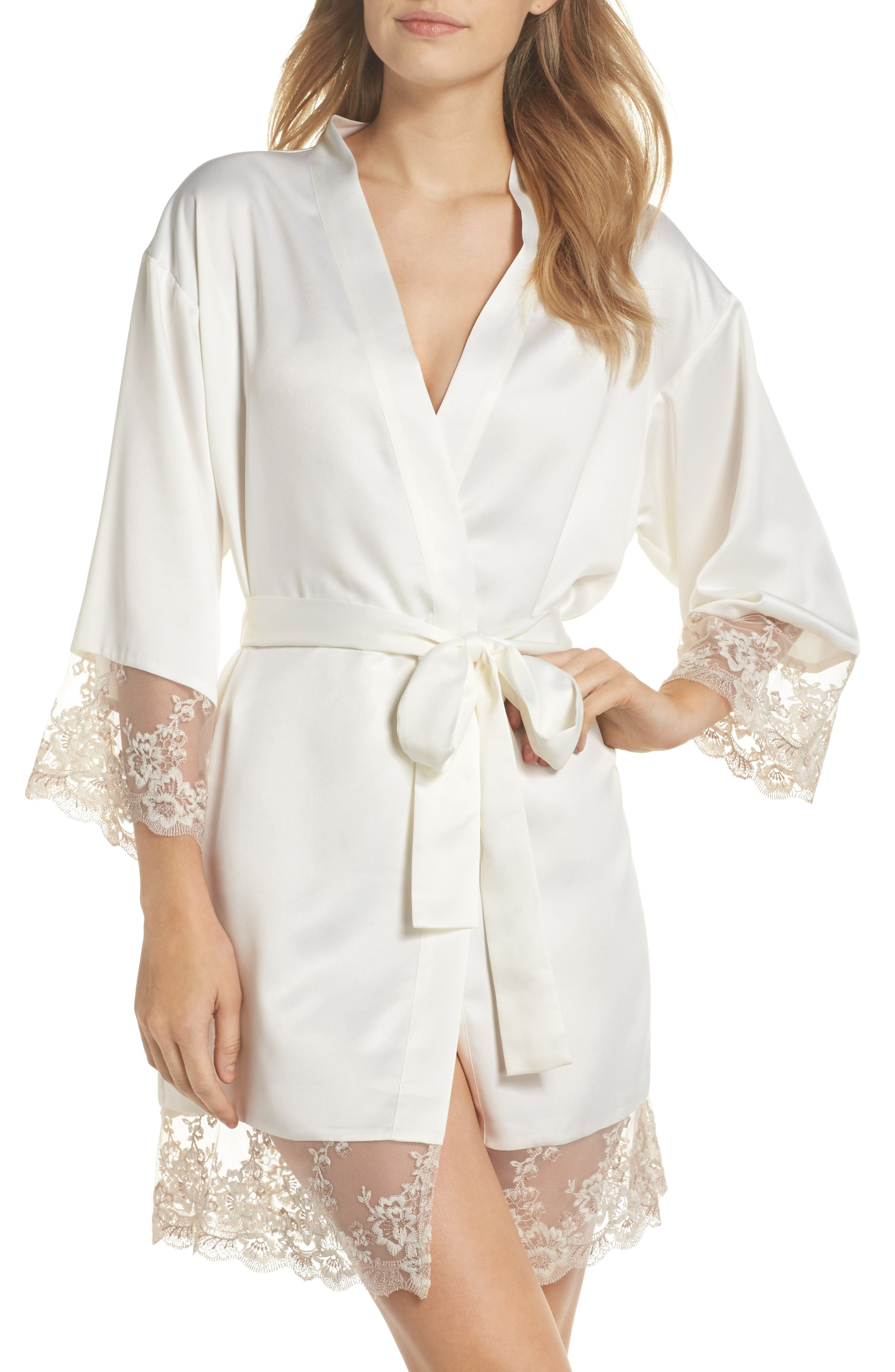 Rosa Kimono Robe,                             Main thumbnail 1, color,